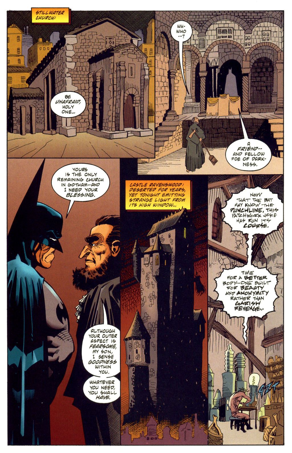 Read online Batman: Haunted Gotham comic -  Issue #2 - 37