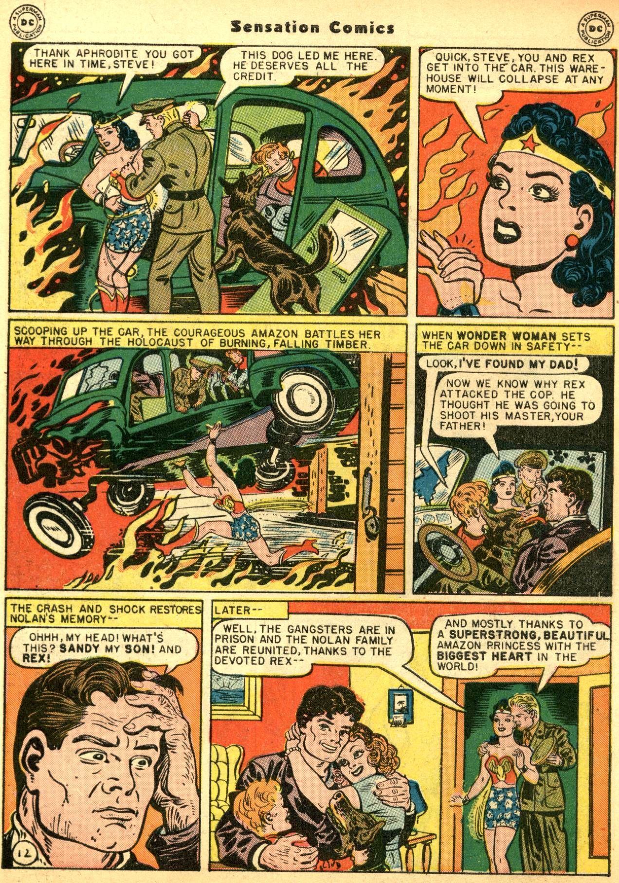 Read online Sensation (Mystery) Comics comic -  Issue #53 - 14