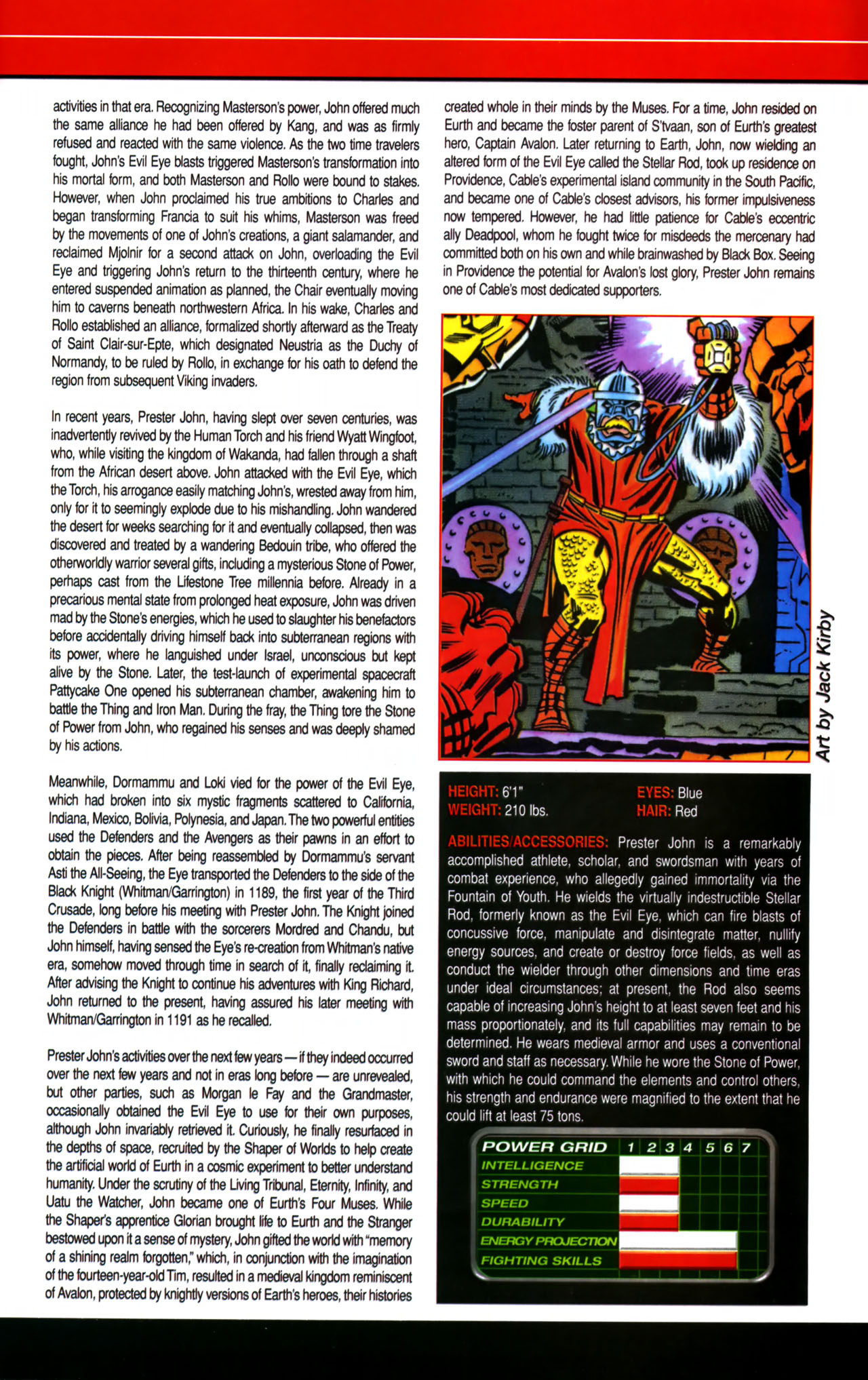 Read online All-New Official Handbook of the Marvel Universe A to Z comic -  Issue #8 - 53