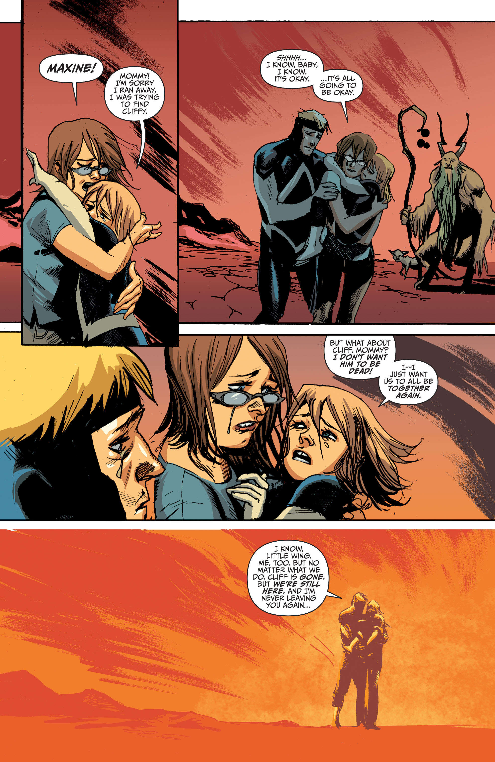 Read online Animal Man (2011) comic -  Issue #28 - 19