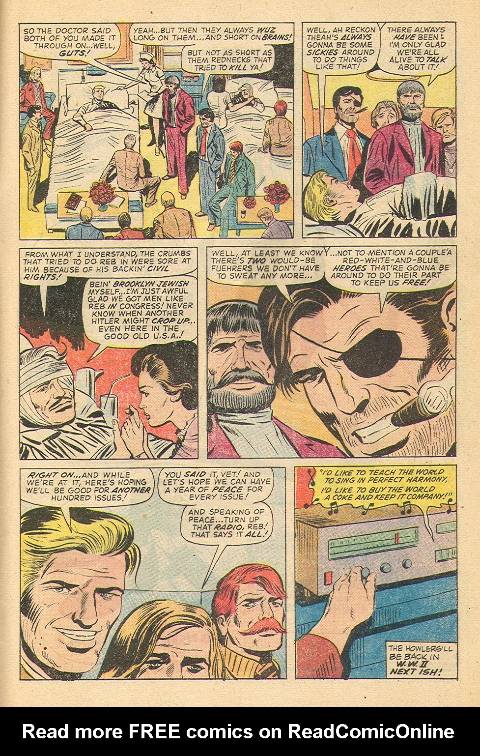 Read online Sgt. Fury comic -  Issue #100 - 32