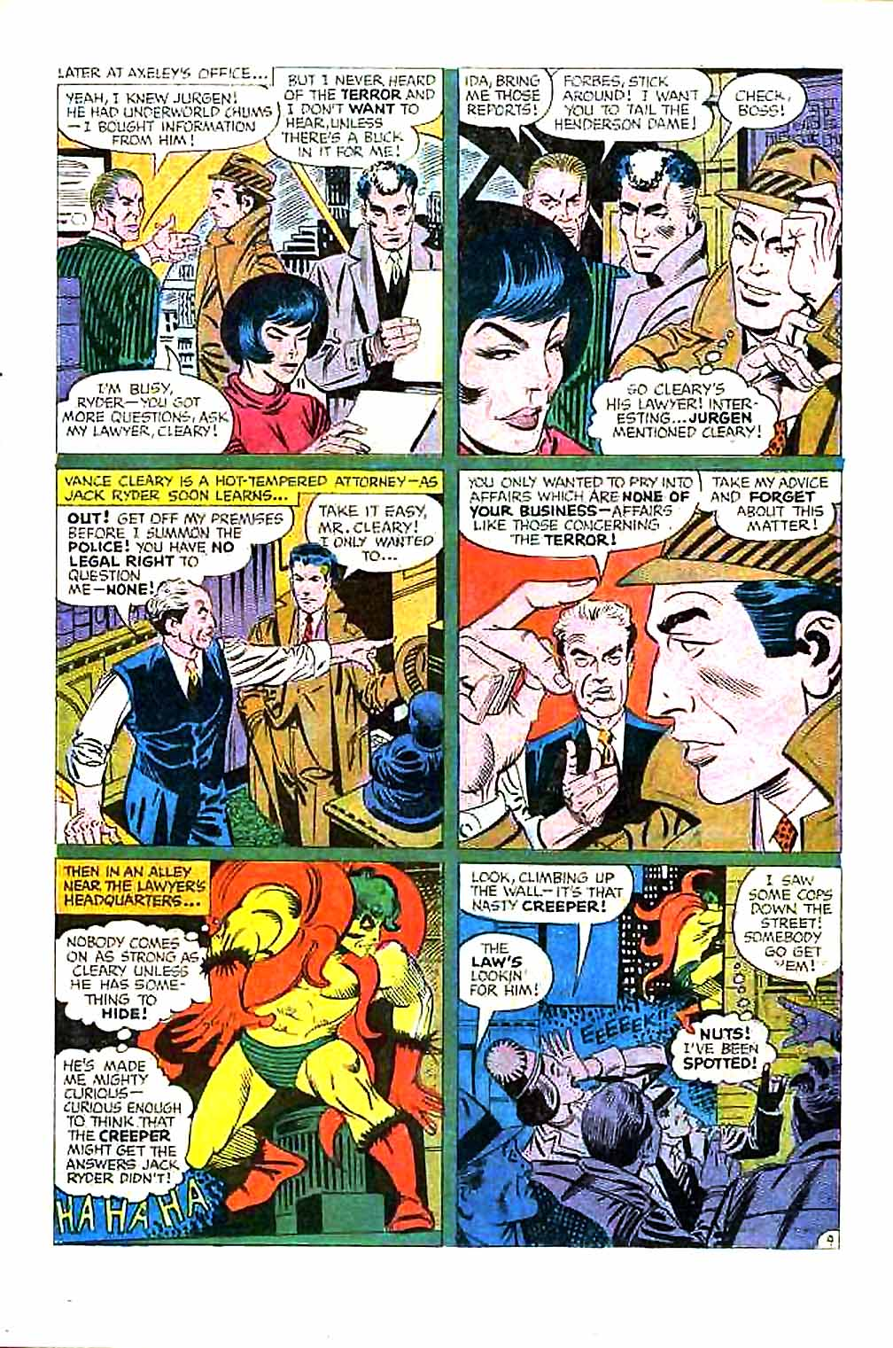 Beware The Creeper (1968) issue 1 - Page 15
