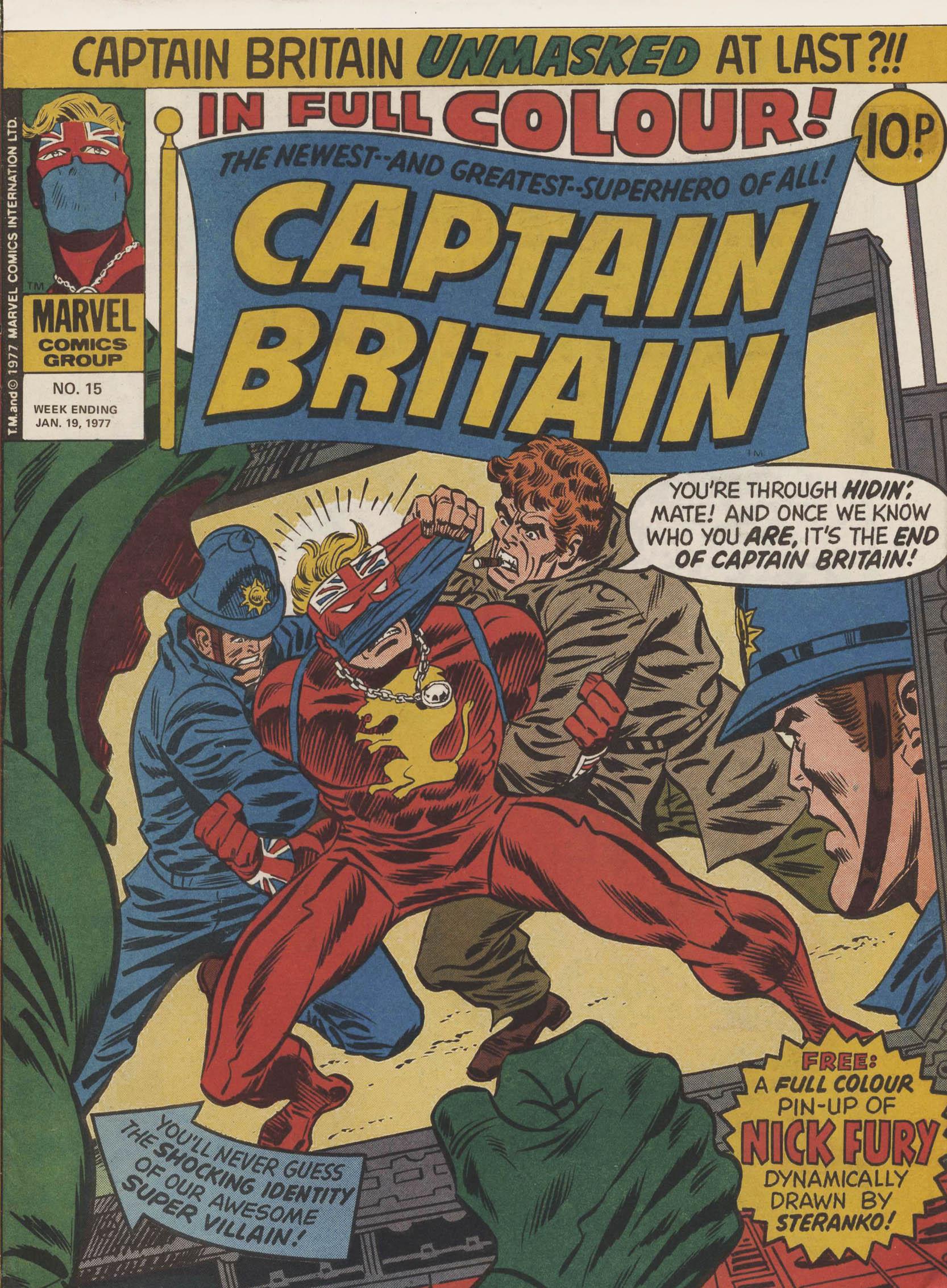 Captain Britain (1976) 15 Page 1