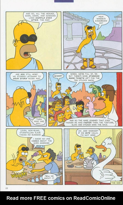 Read online Simpsons Comics comic -  Issue #70 - 23