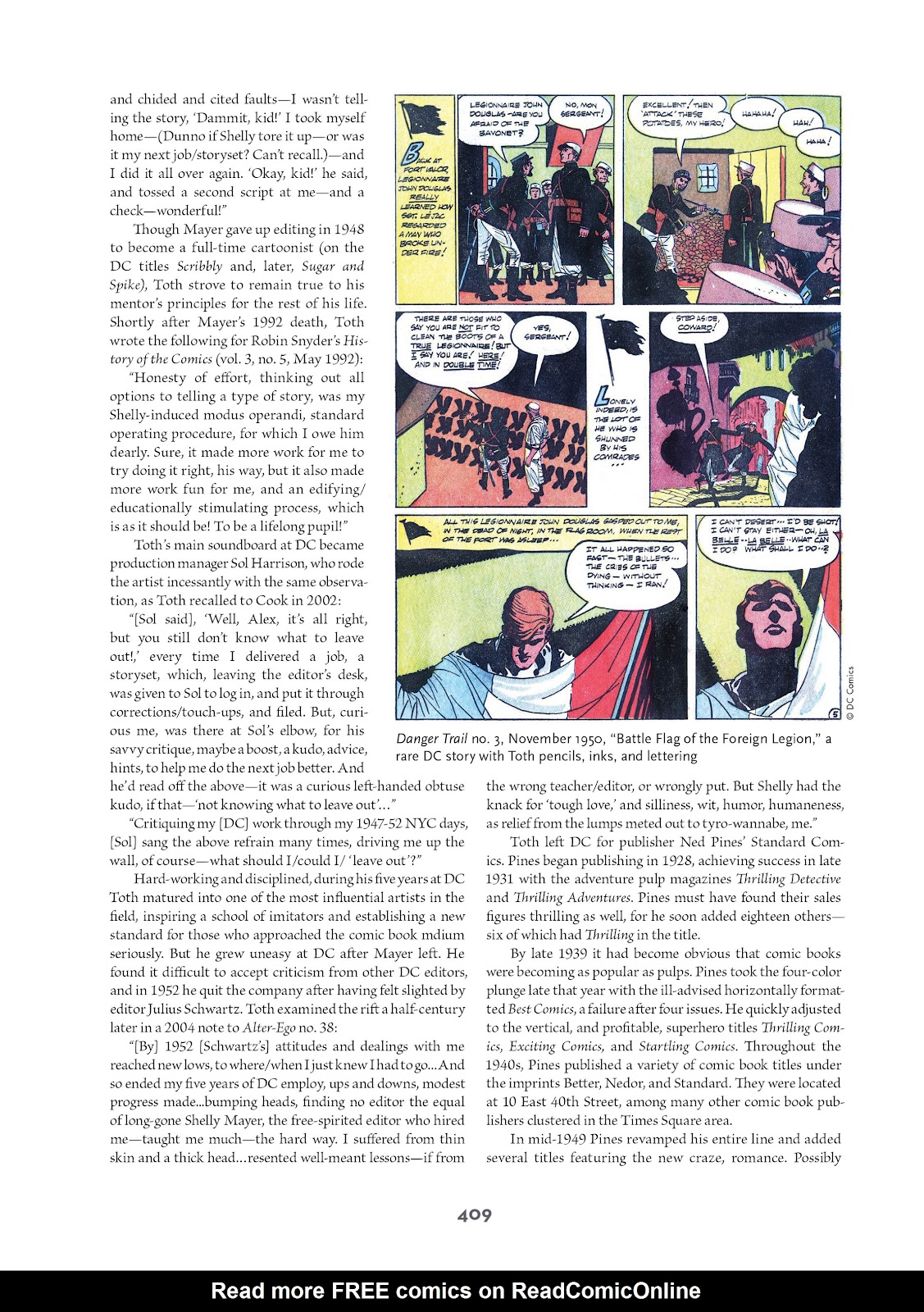 Read online Setting the Standard: Comics by Alex Toth 1952-1954 comic -  Issue # TPB (Part 4) - 110
