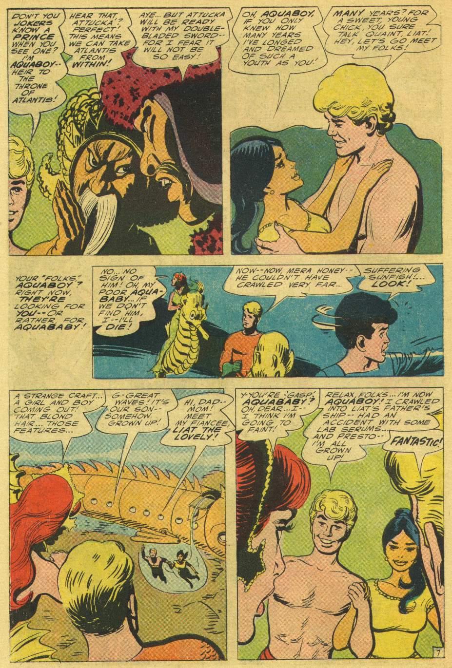 Read online Aquaman (1962) comic -  Issue #25 - 10