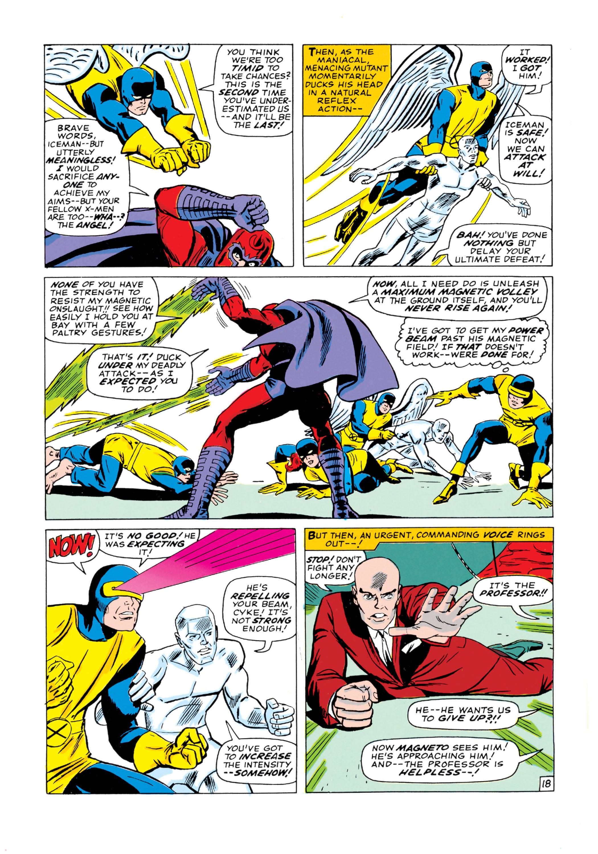 Read online Uncanny X-Men (1963) comic -  Issue #18 - 19