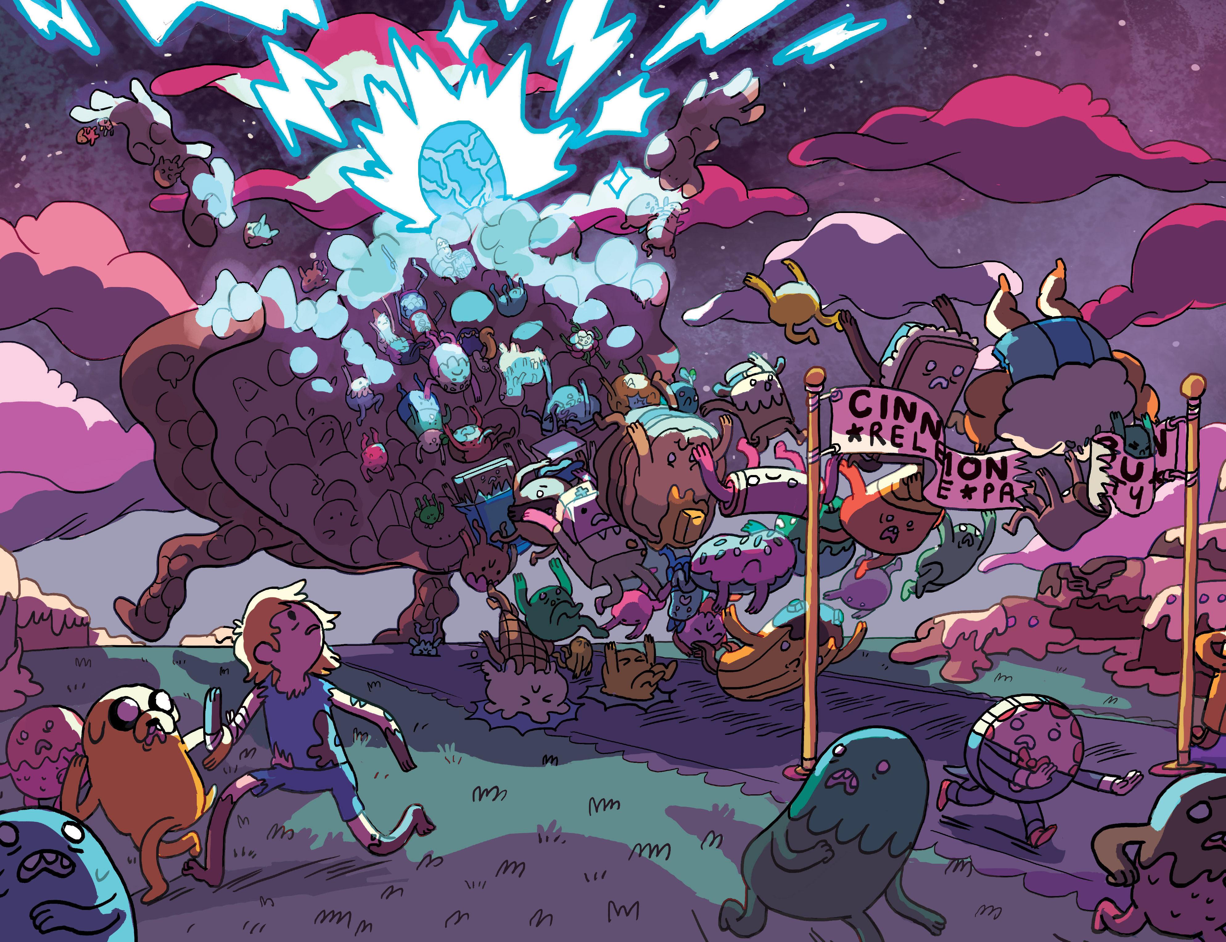 Read online Adventure Time: Marceline Gone Adrift comic -  Issue #6 - 20