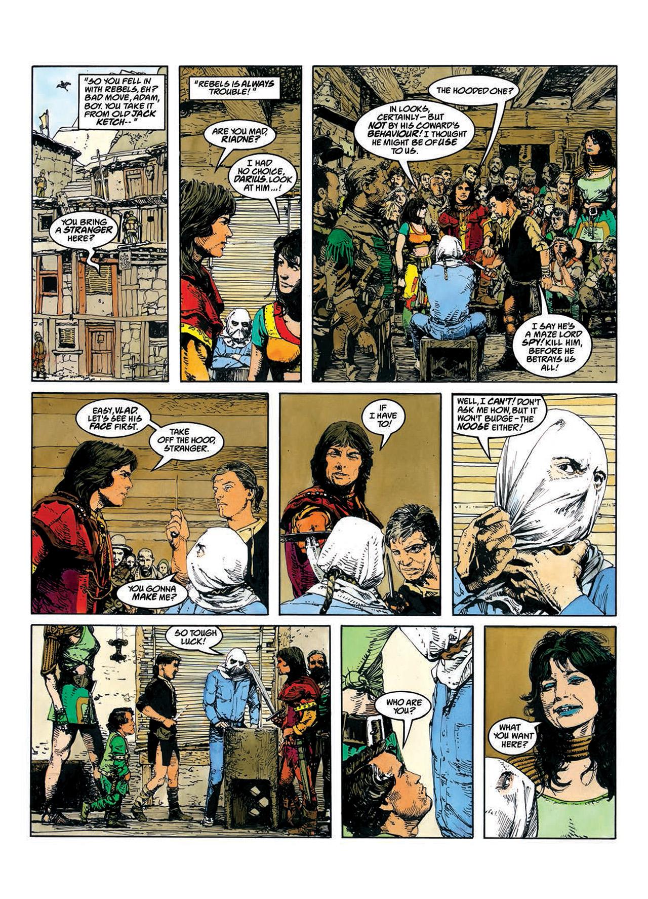 Read online Mazeworld comic -  Issue # TPB - 18