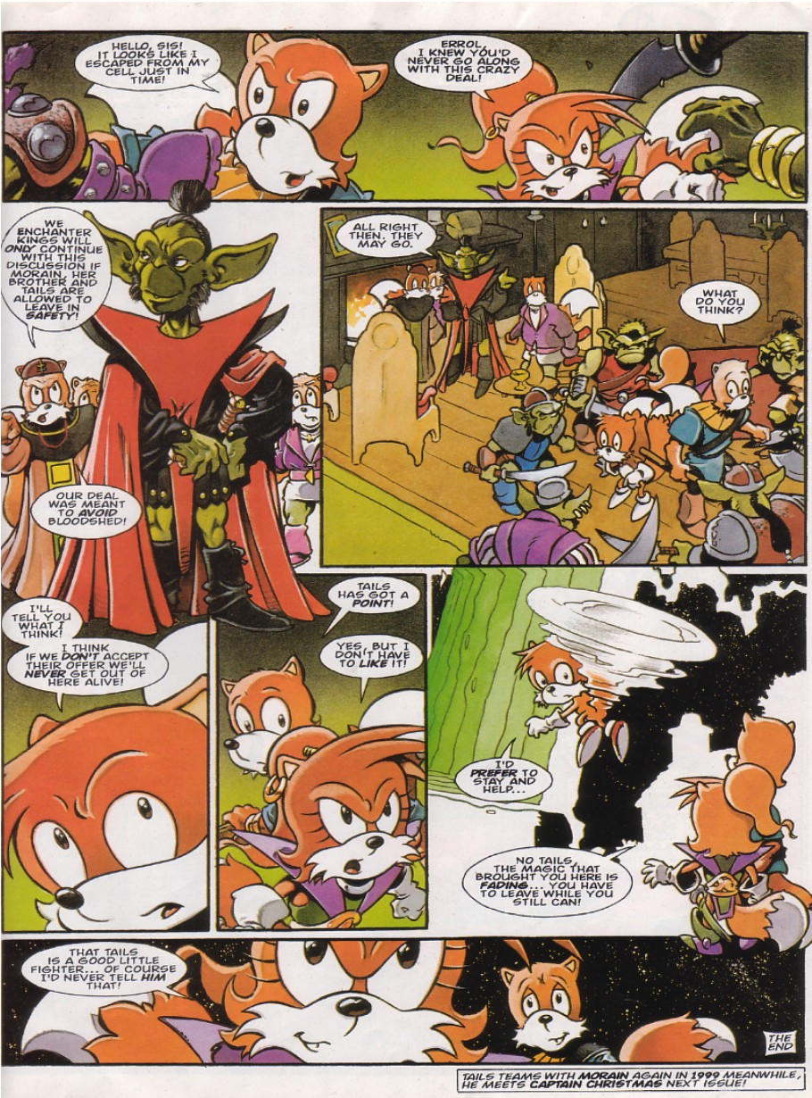 Read online Sonic the Comic comic -  Issue #144 - 20