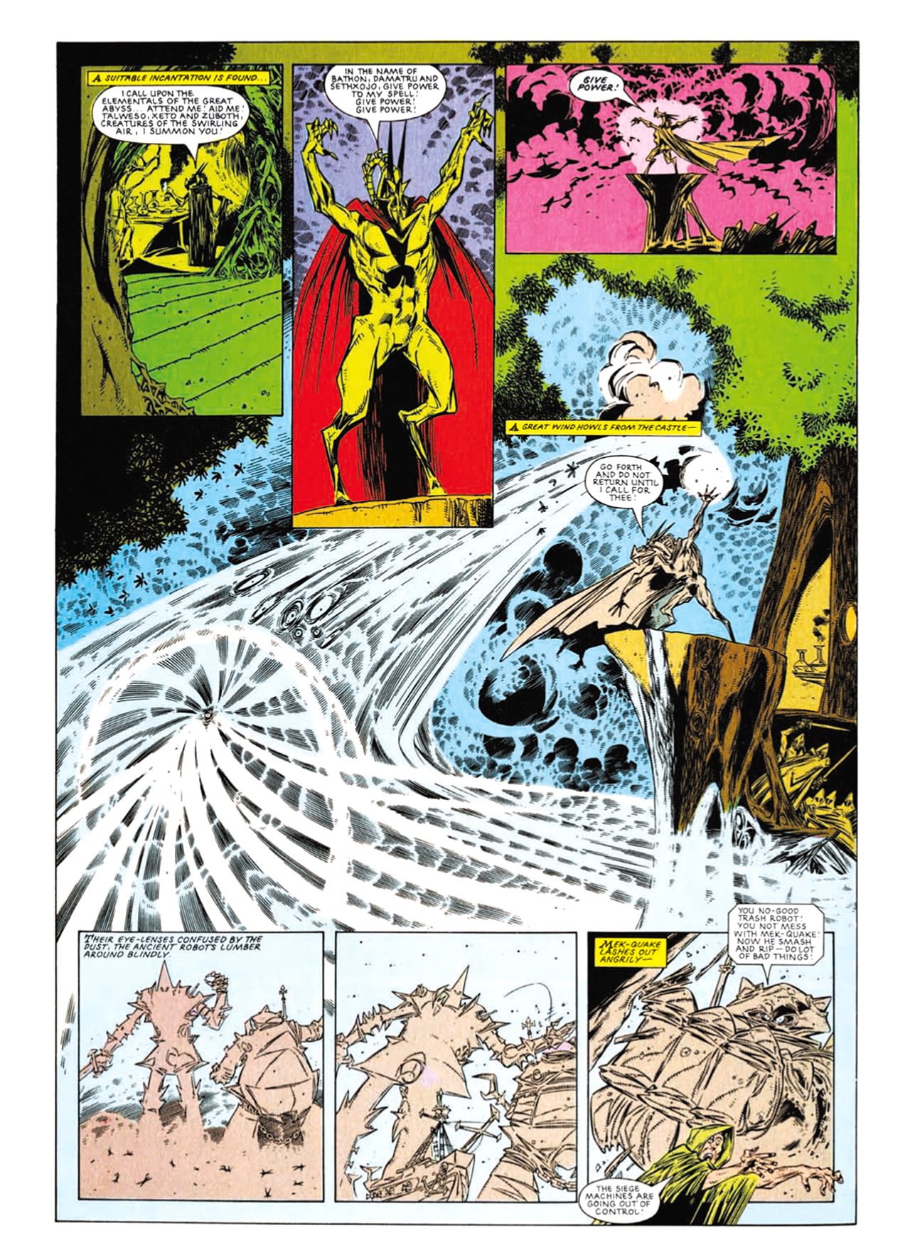 Read online Nemesis The Warlock comic -  Issue # TPB Deviant Edition - 190