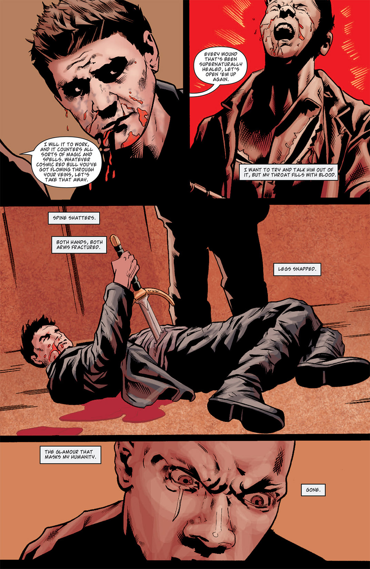 Read online Angel: After The Fall comic -  Issue #11 - 22