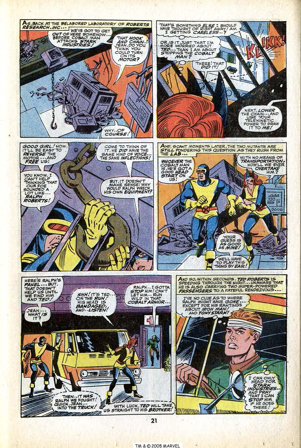 Uncanny X-Men (1963) 79 Page 22