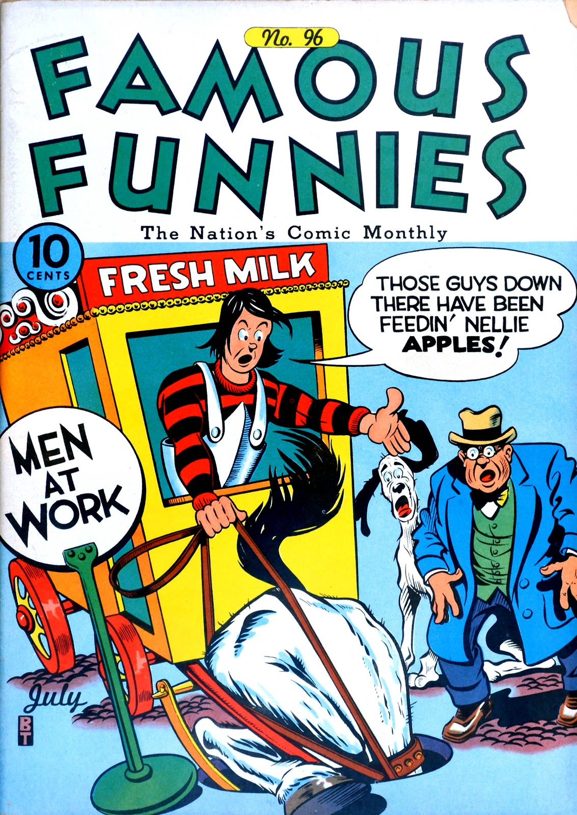 Read online Famous Funnies comic -  Issue #96 - 1