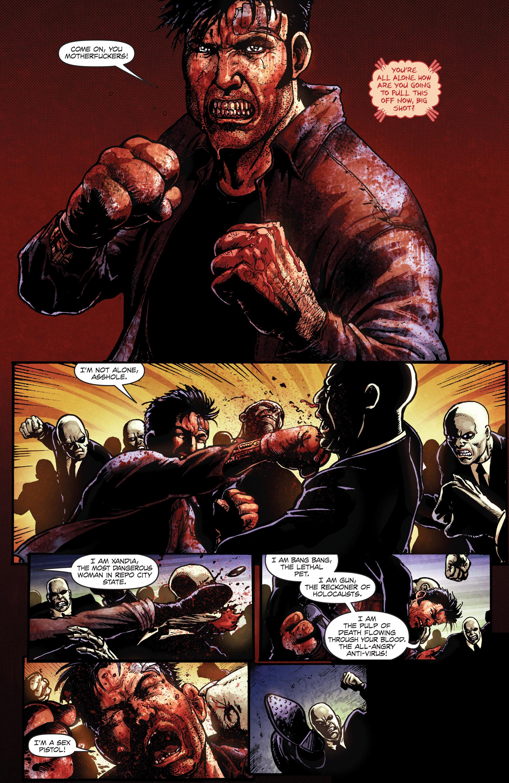 Read online Ballistic (2013) comic -  Issue #5 - 19