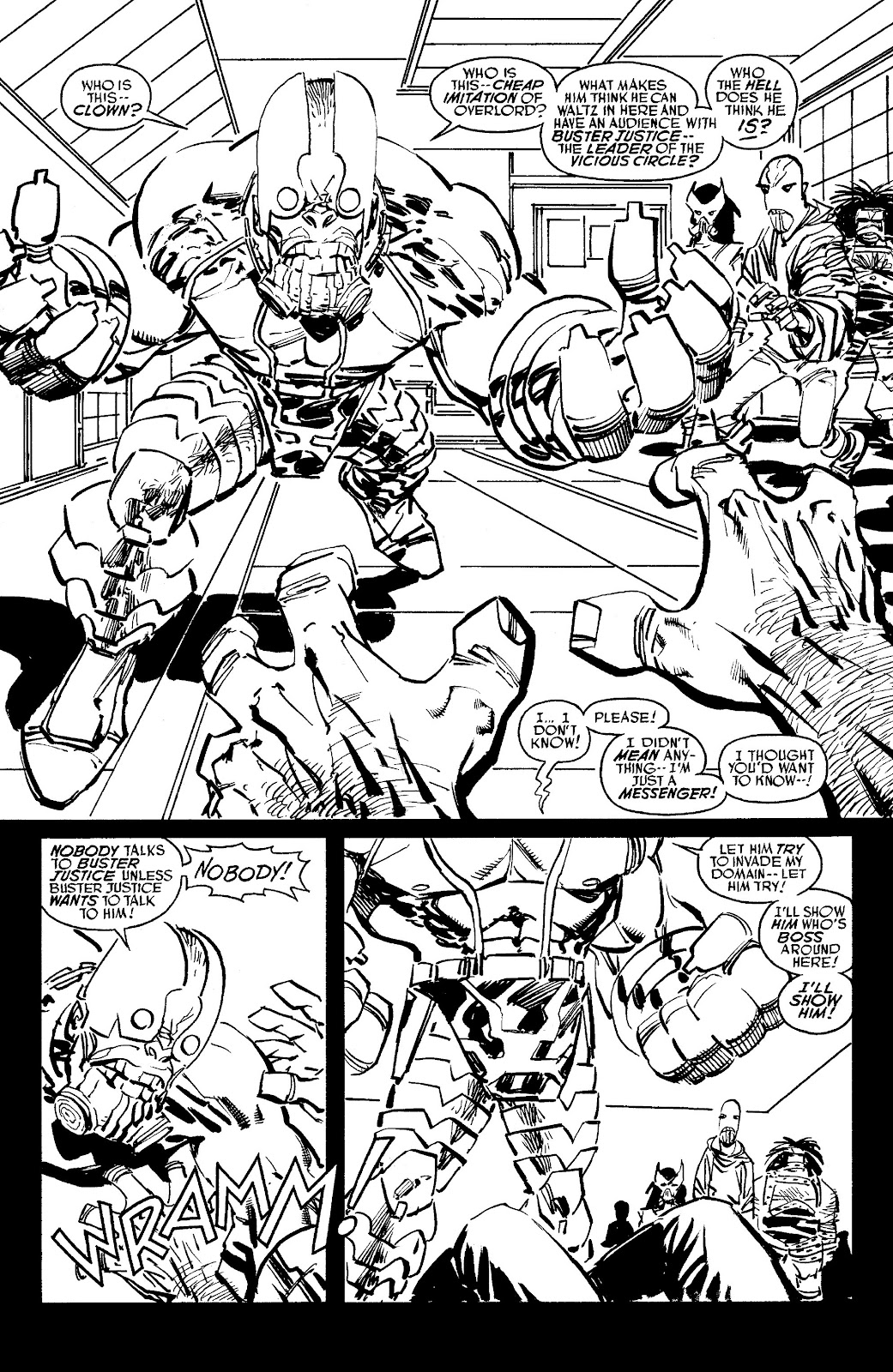 Read online Savage Dragon Archives comic -  Issue # TPB 6 (Part 5) - 99
