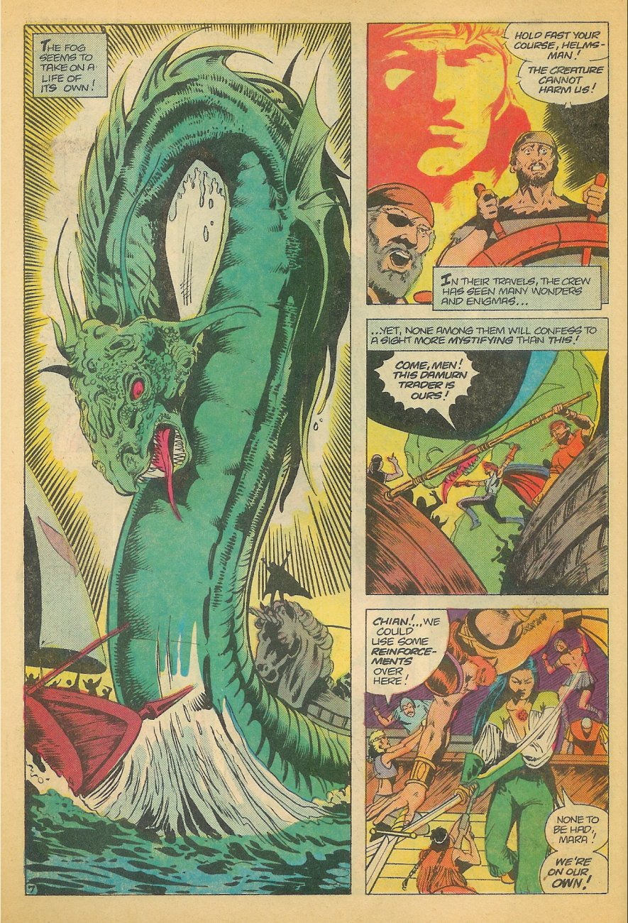 Read online Arion, Lord of Atlantis comic -  Issue #21 - 8
