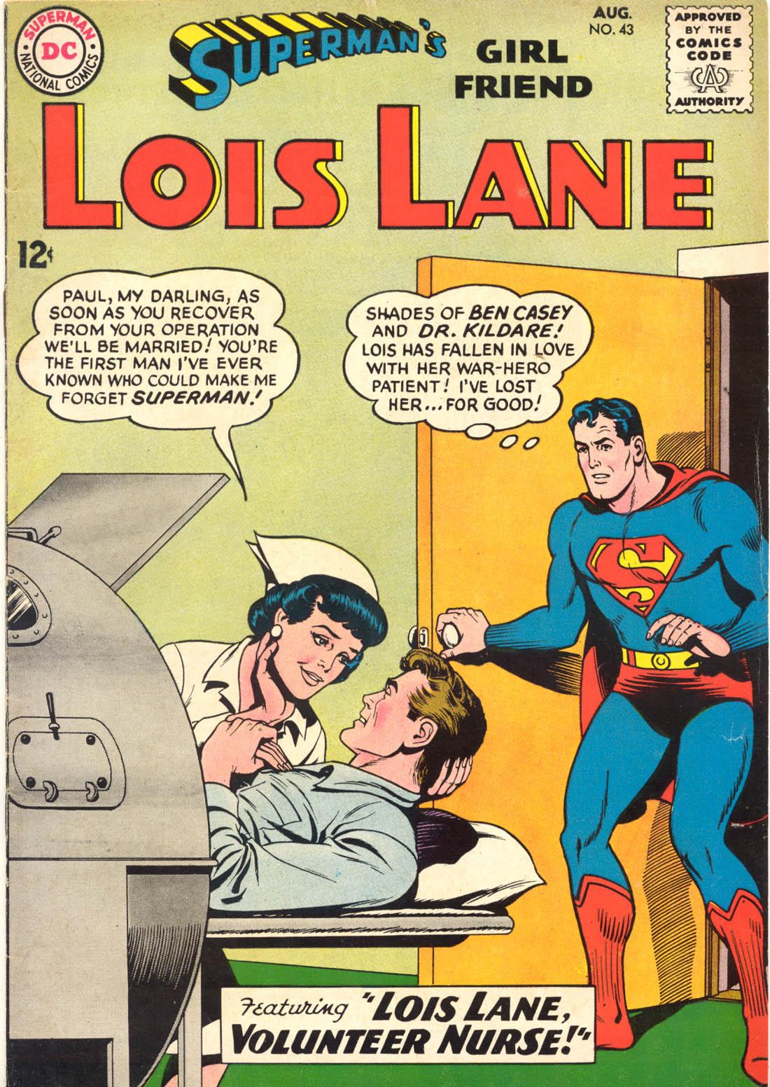Supermans Girl Friend, Lois Lane 43 Page 1