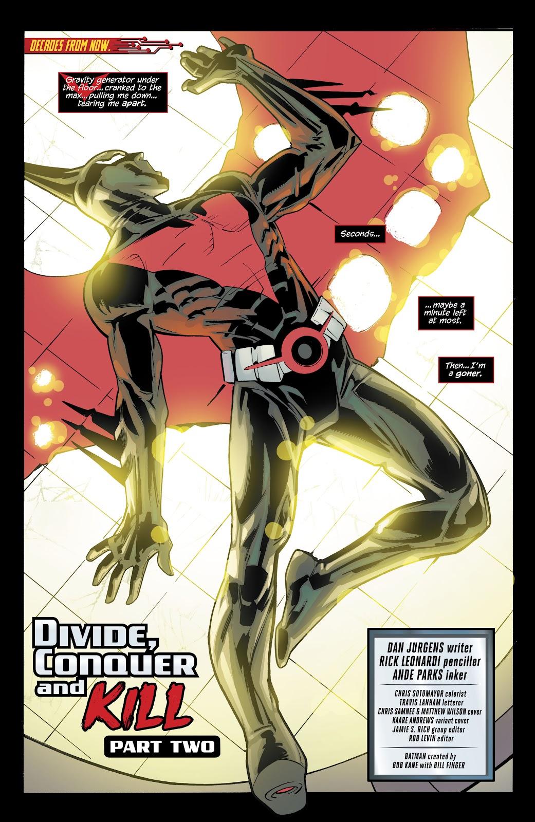 Read online Batman Beyond (2016) comic -  Issue #32 - 3