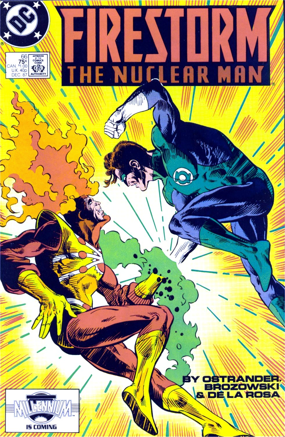 Firestorm, the Nuclear Man 66 Page 1