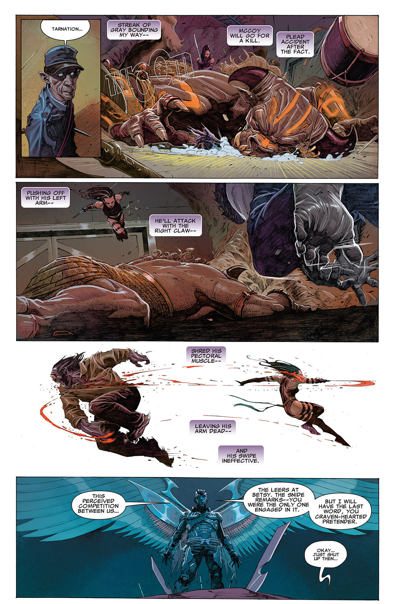 Read online Uncanny X-Force (2010) comic -  Issue #14 - 11