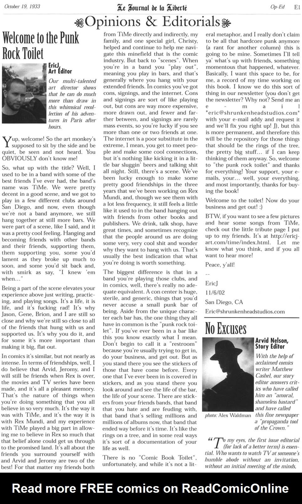 Read online Rex Mundi comic -  Issue #1 - 26