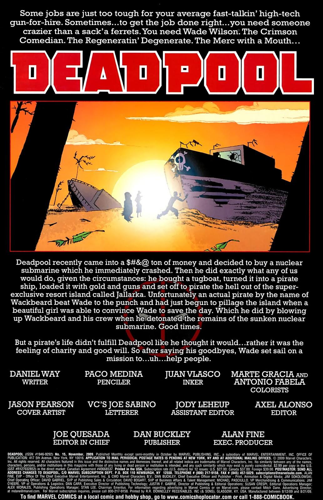 Read online Deadpool (2008) comic -  Issue #15 - 2