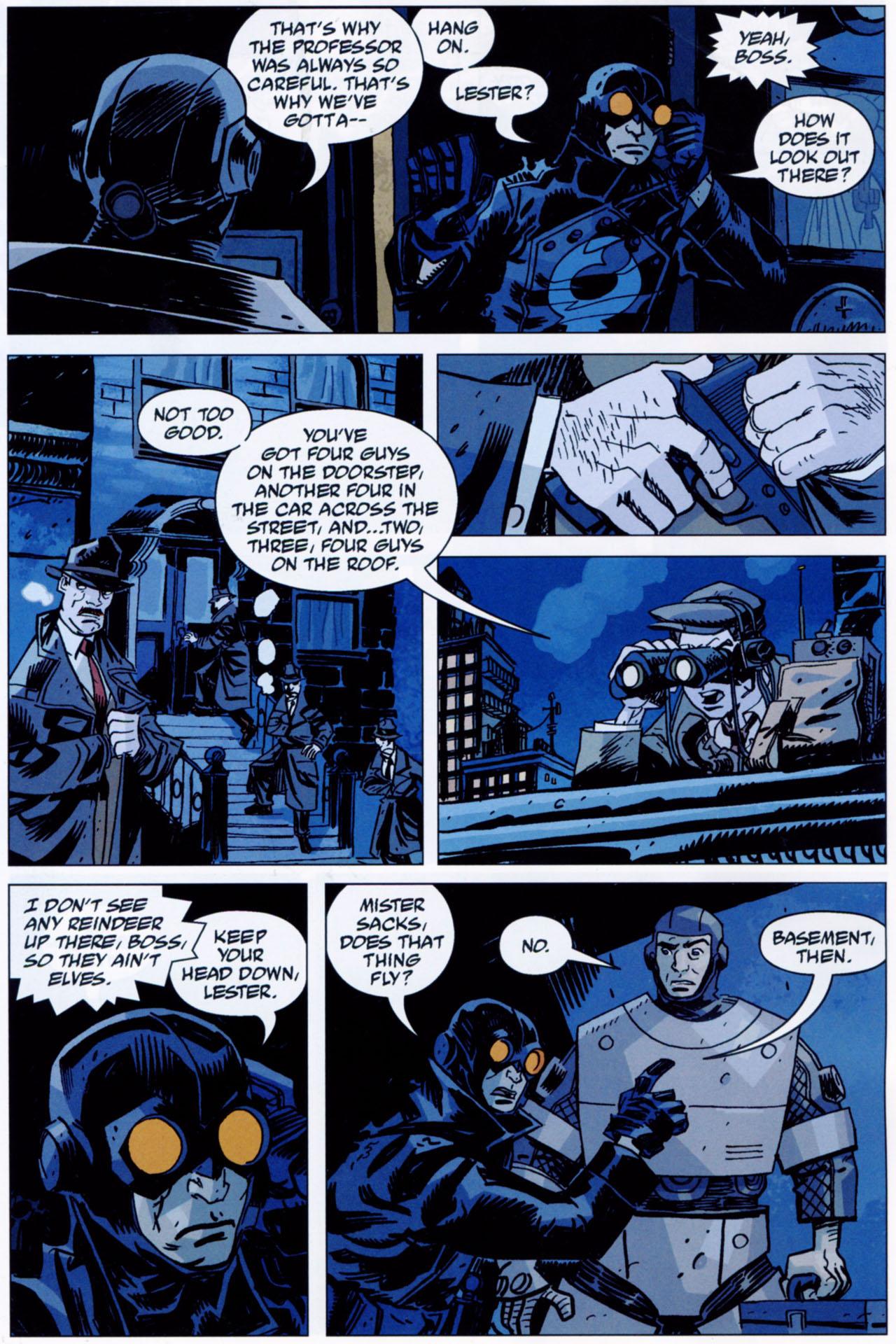 Read online Lobster Johnson: The Iron Prometheus comic -  Issue #1 - 12