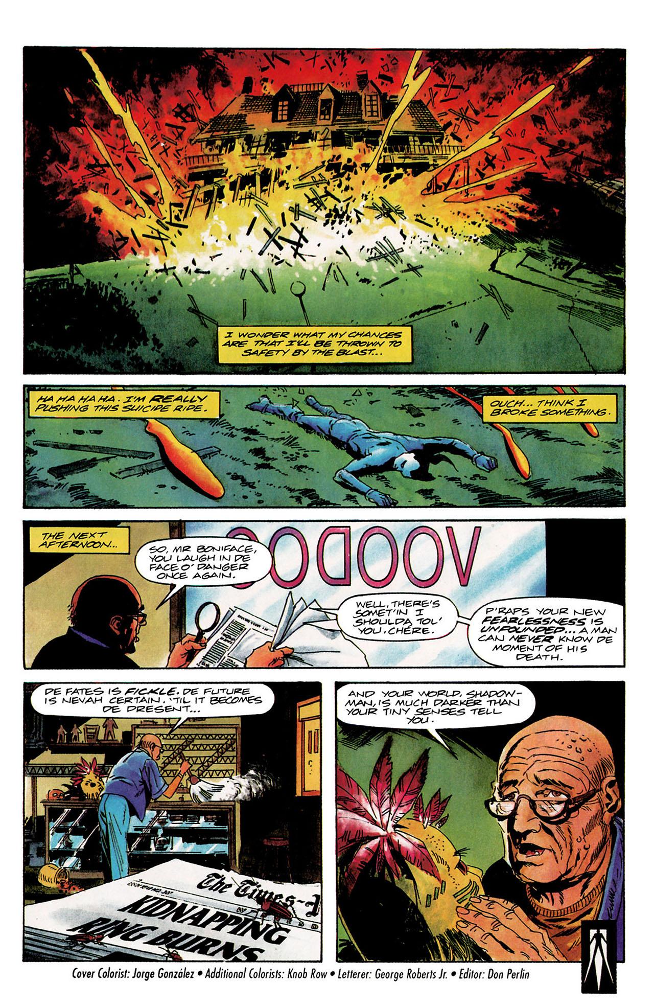 Read online Shadowman (1992) comic -  Issue #9 - 22