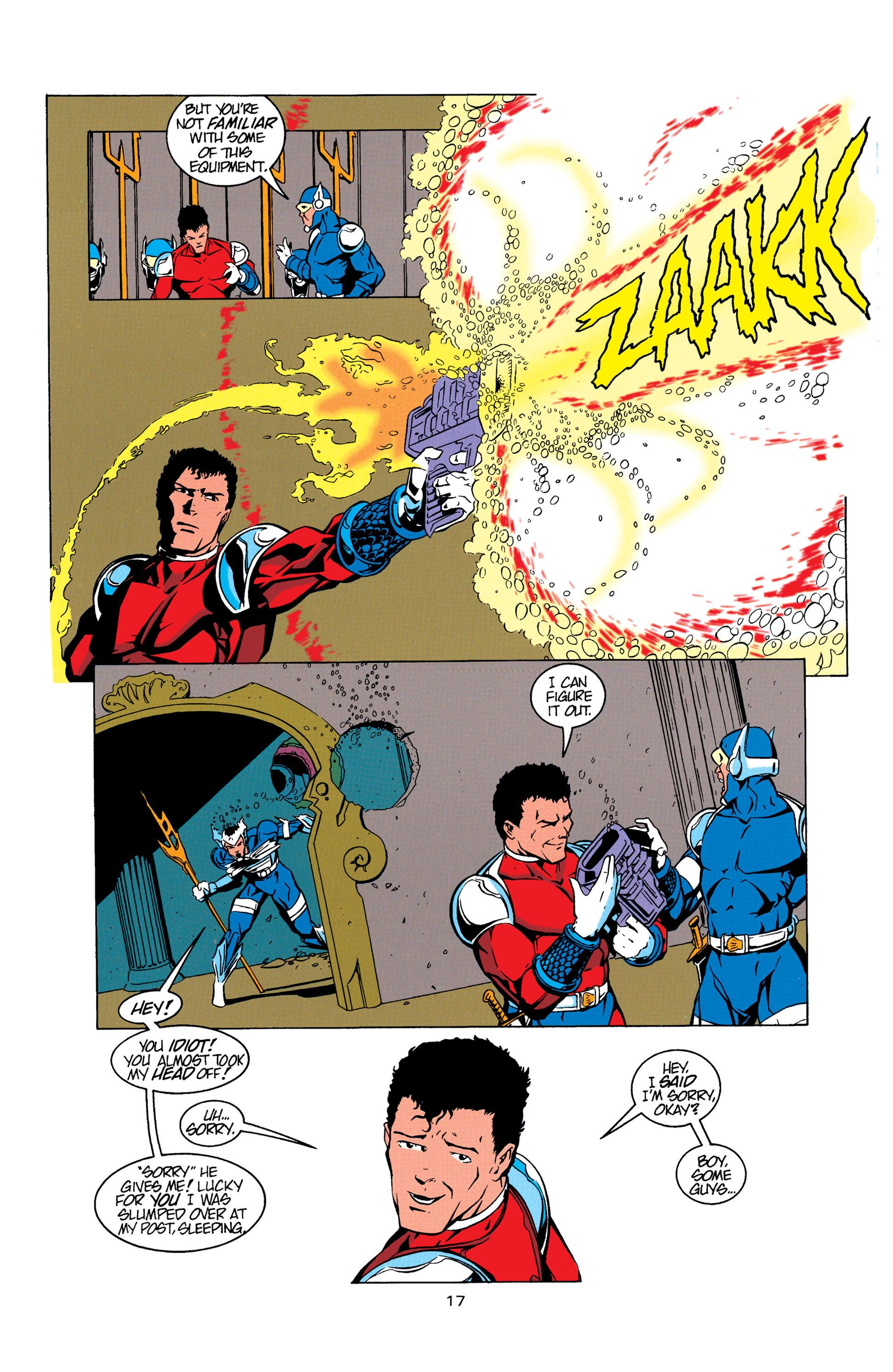 Read online Aquaman (1994) comic -  Issue #5 - 18