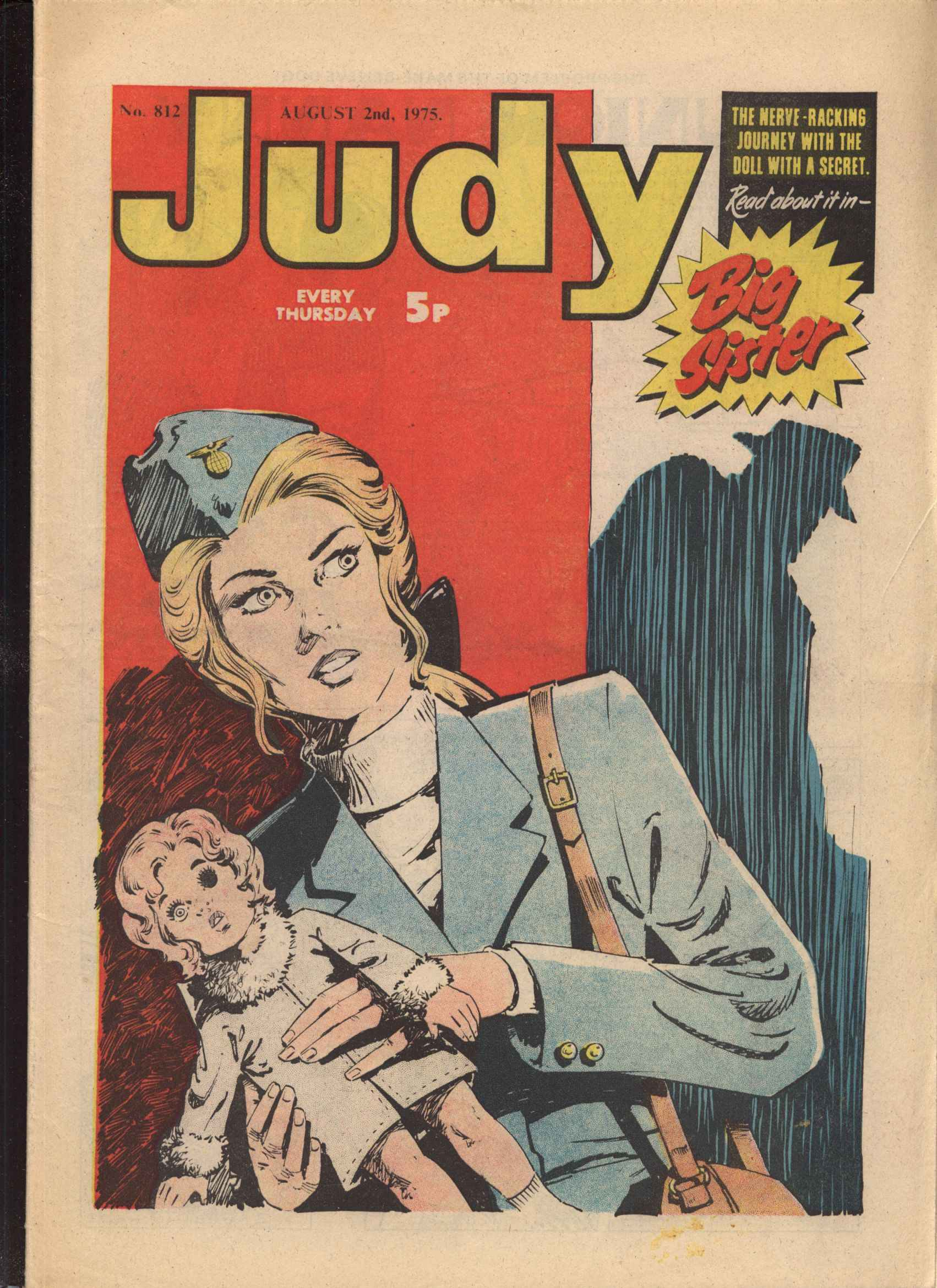 Read online Judy comic -  Issue #812 - 1
