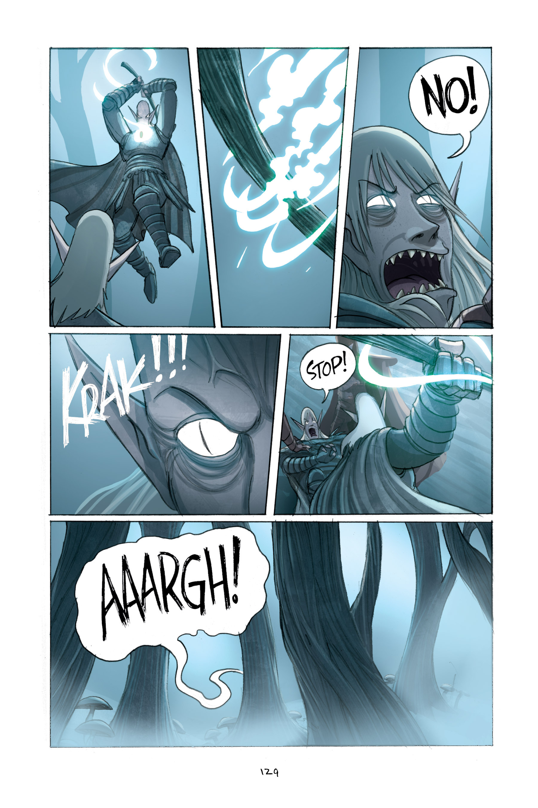 Read online Amulet comic -  Issue #2 - 129