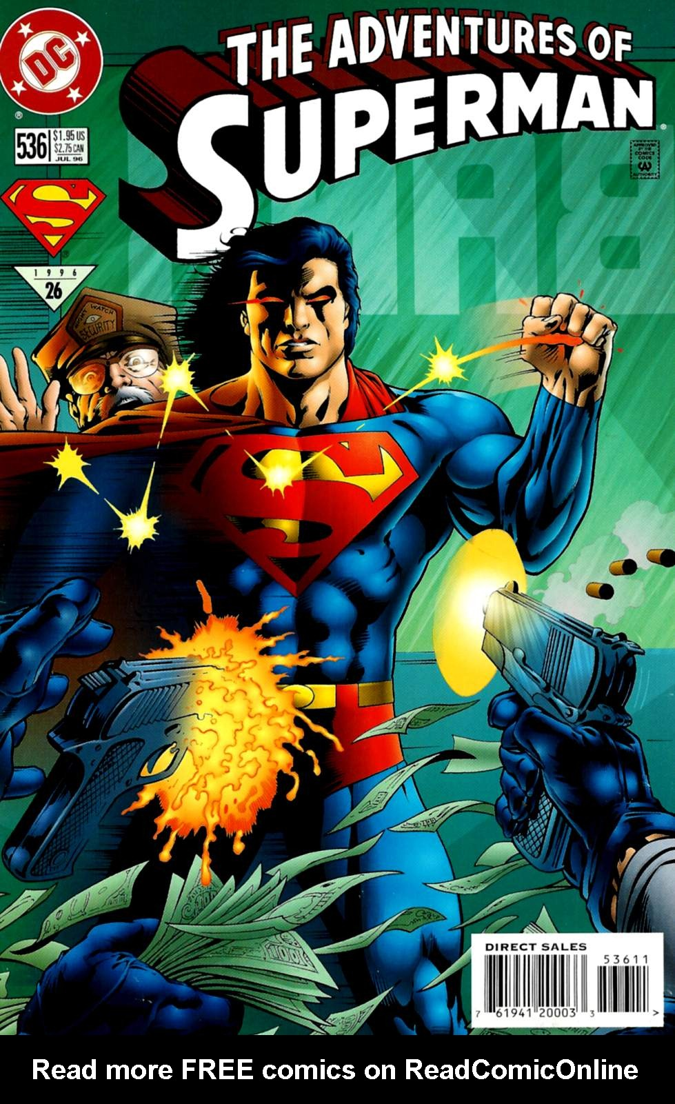 Read online Adventures of Superman (1987) comic -  Issue #536 - 1