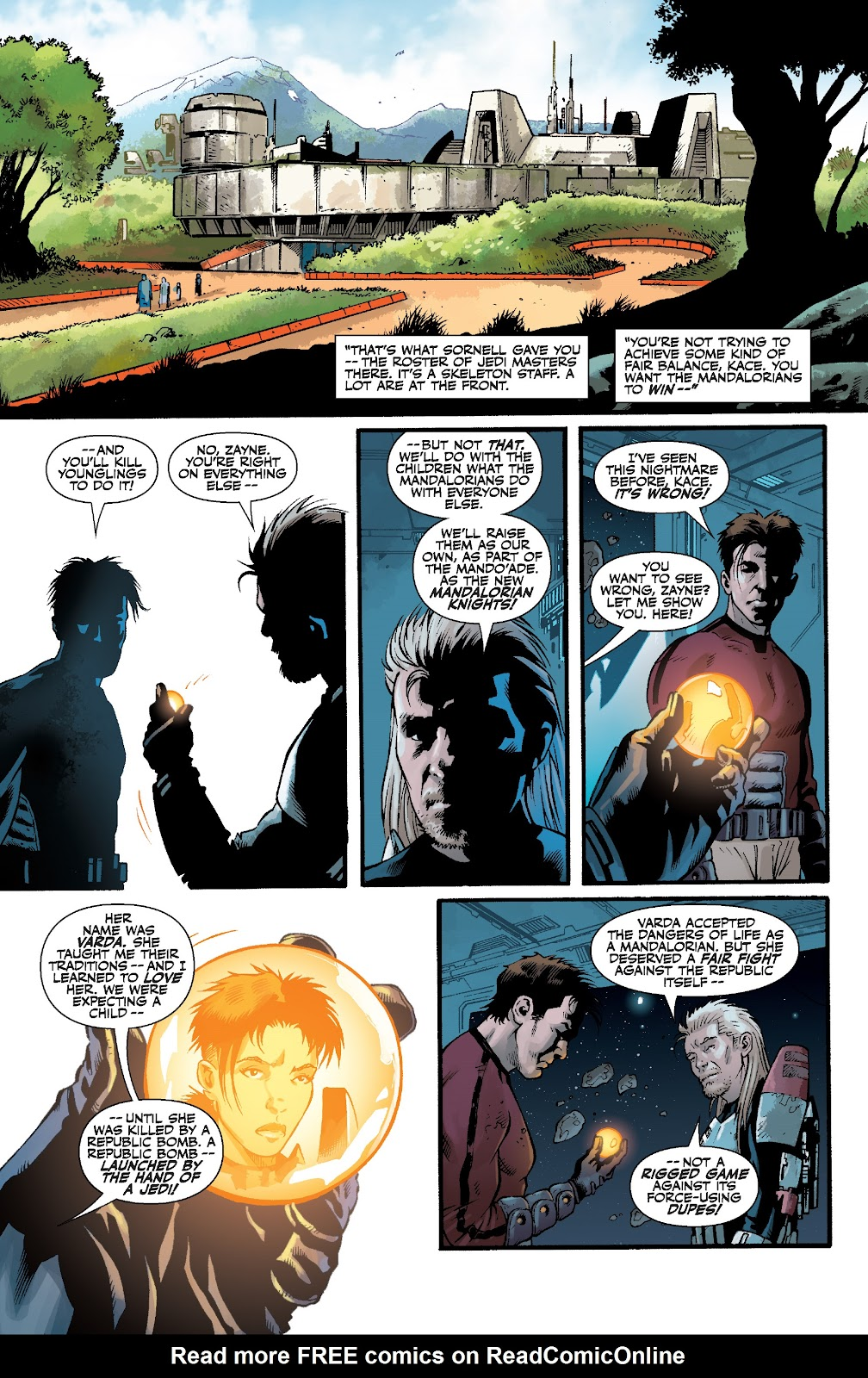 Read online Star Wars Legends: The Old Republic - Epic Collection comic -  Issue # TPB 3 (Part 4) - 66