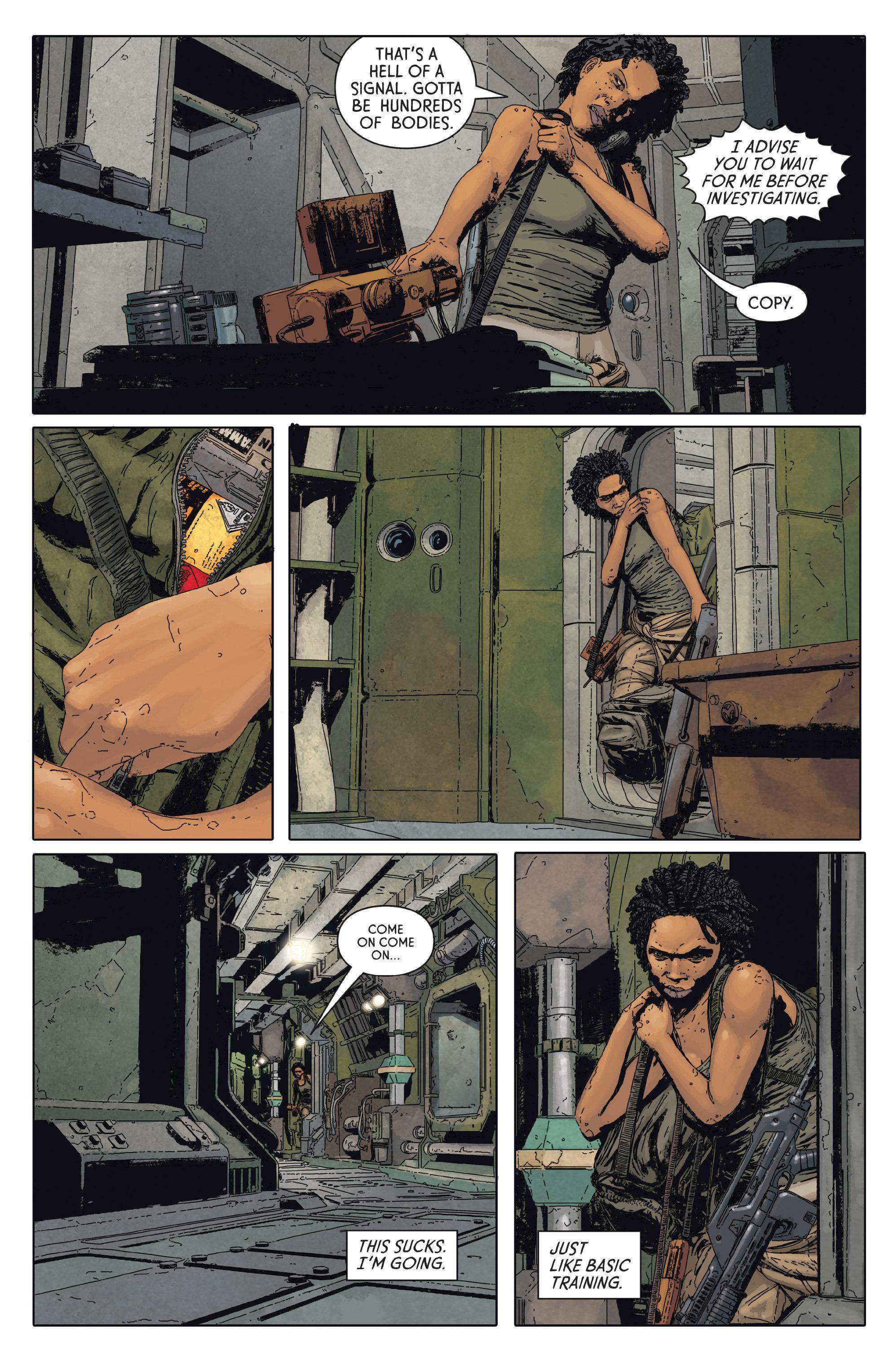 Read online Aliens: Defiance comic -  Issue #2 - 14