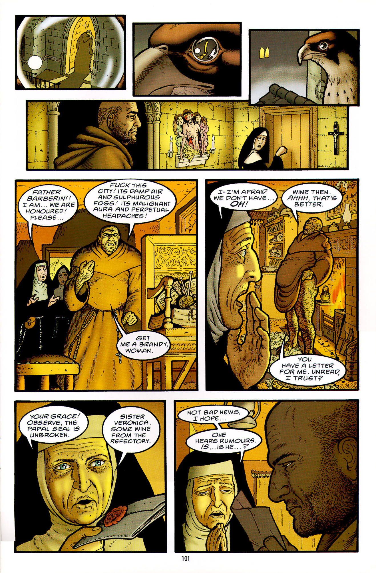 Read online Heart of Empire comic -  Issue #4 - 5