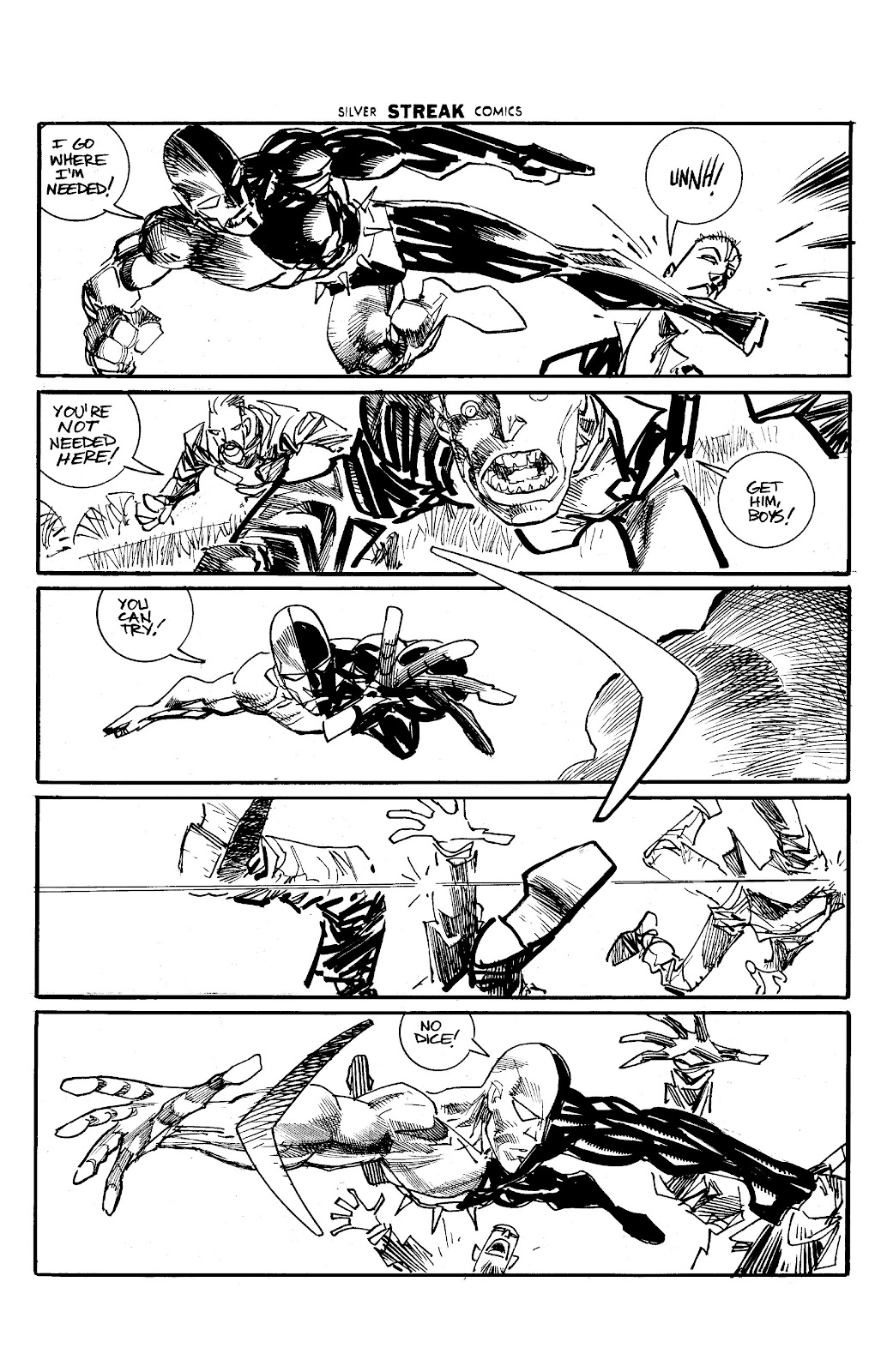 Read online Savage Dragon Archives comic -  Issue # TPB 6 (Part 5) - 54
