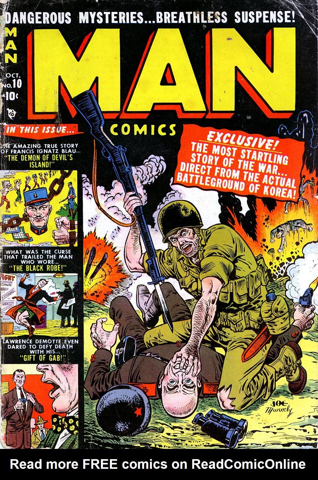 Man Comics 10 Page 1