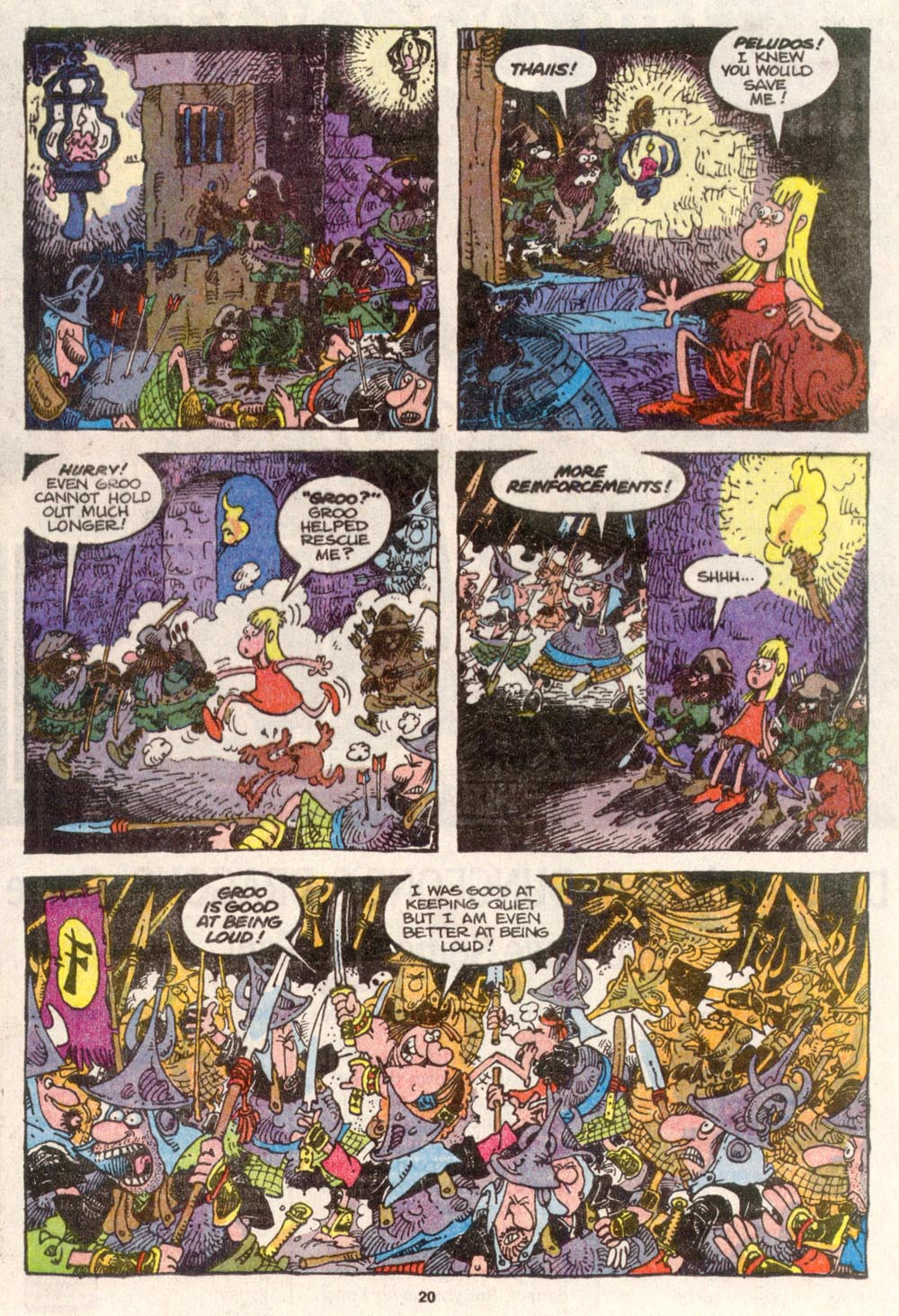 Read online Sergio Aragonés Groo the Wanderer comic -  Issue #82 - 16
