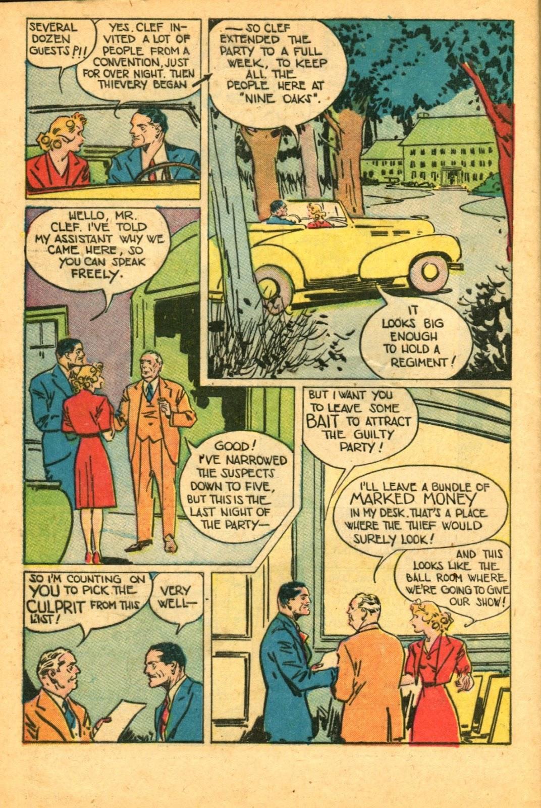 Read online Super-Magician Comics comic -  Issue #49 - 44