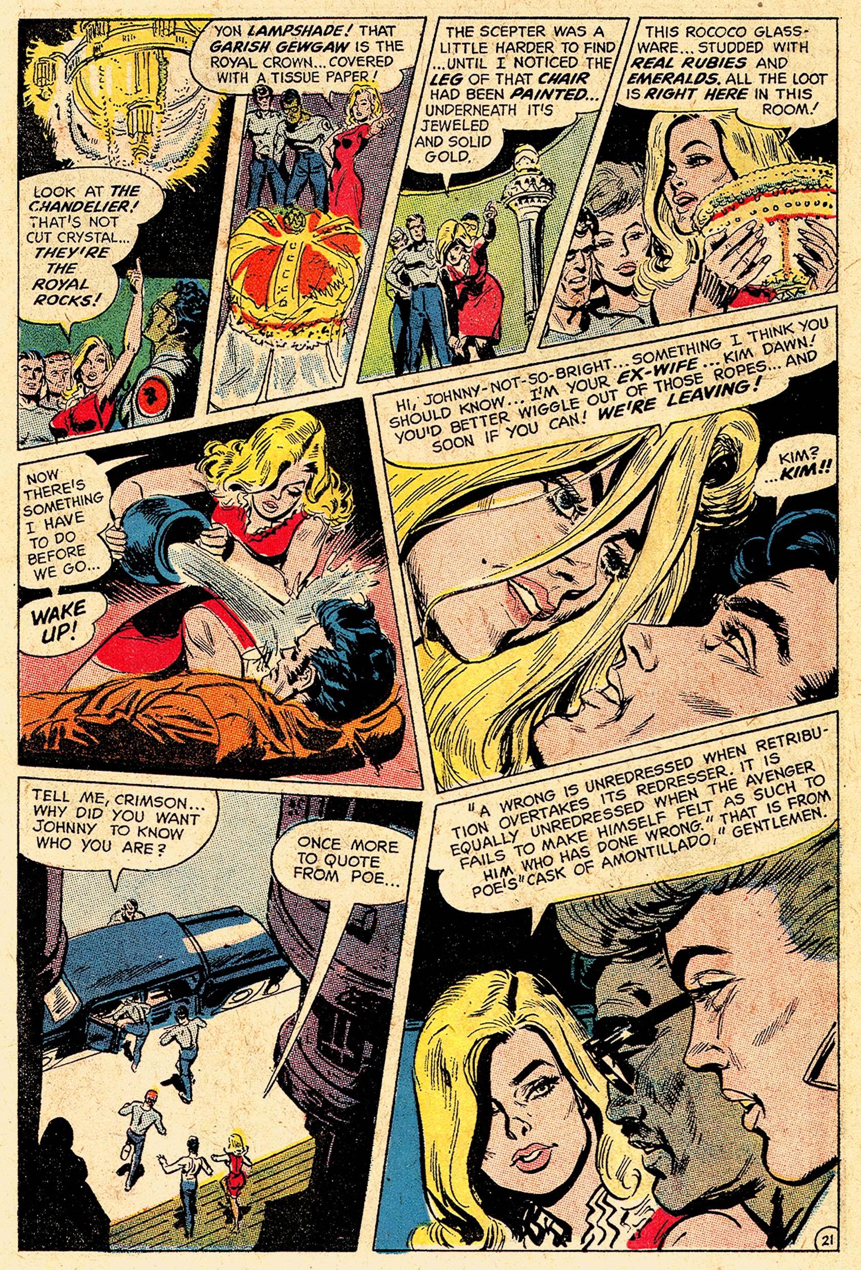 Read online Secret Six (1968) comic -  Issue #5 - 29
