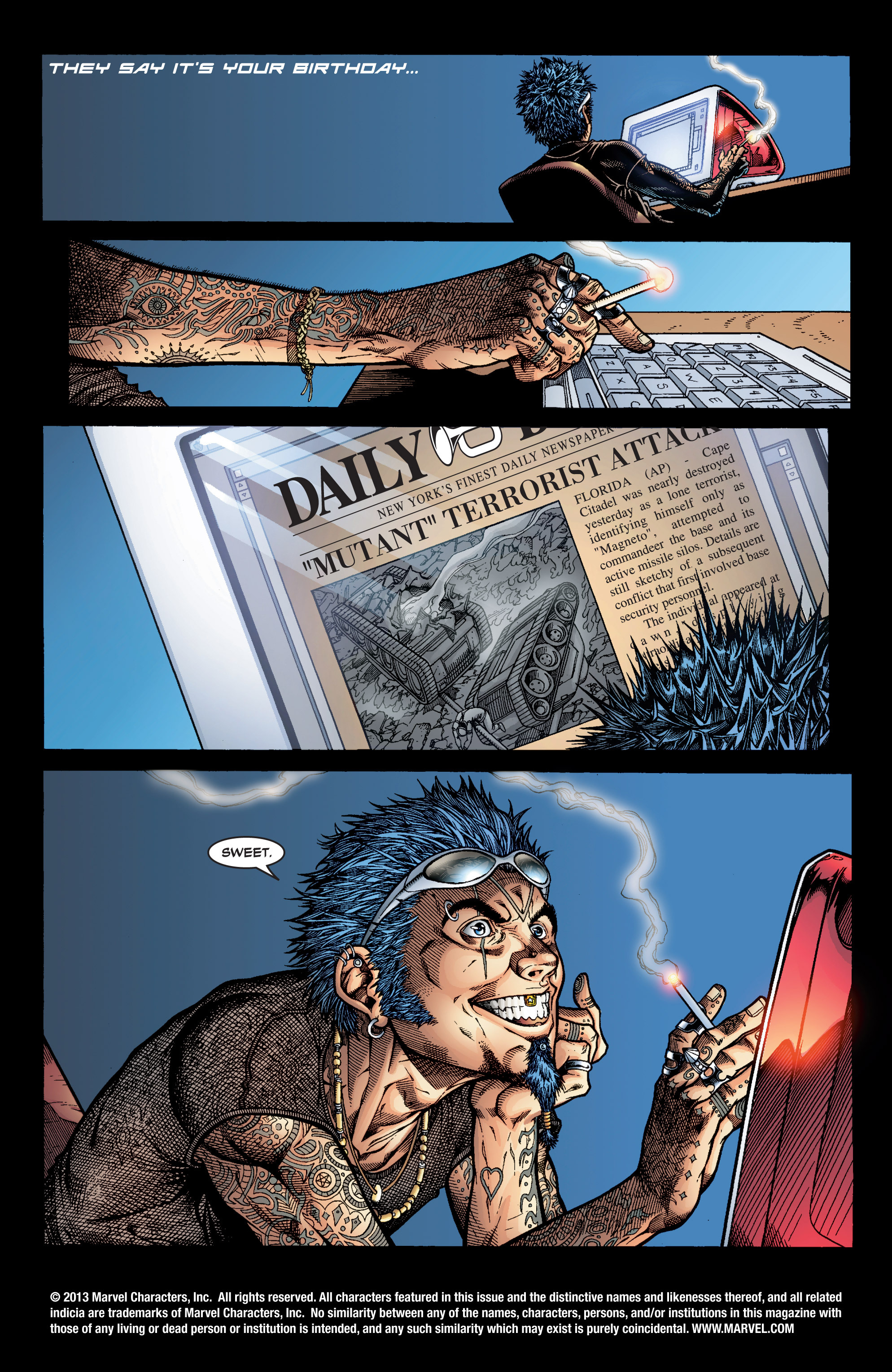 Read online Uncanny X-Men (1963) comic -  Issue #394 - 2
