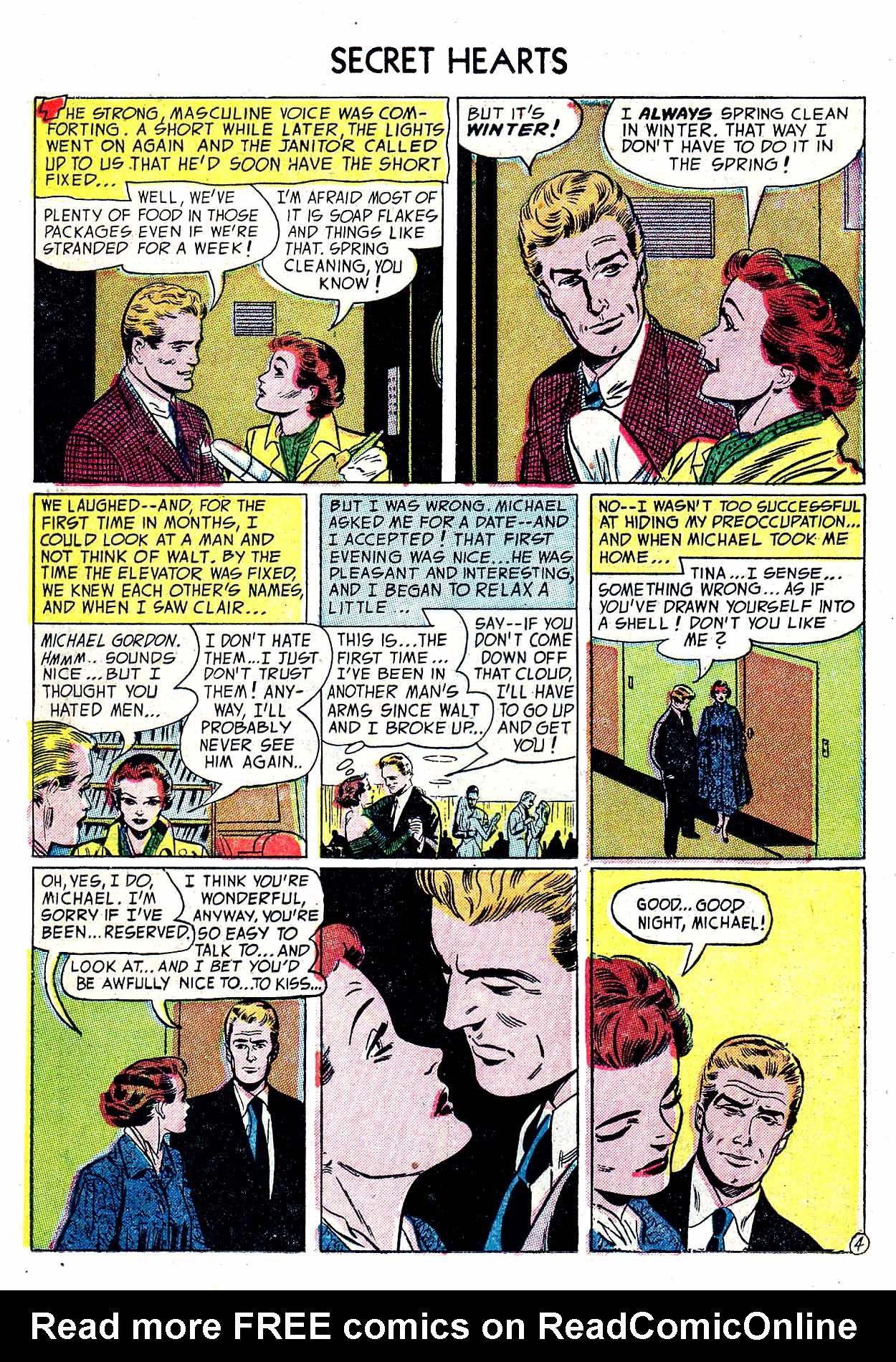 Read online Secret Hearts comic -  Issue #19 - 14