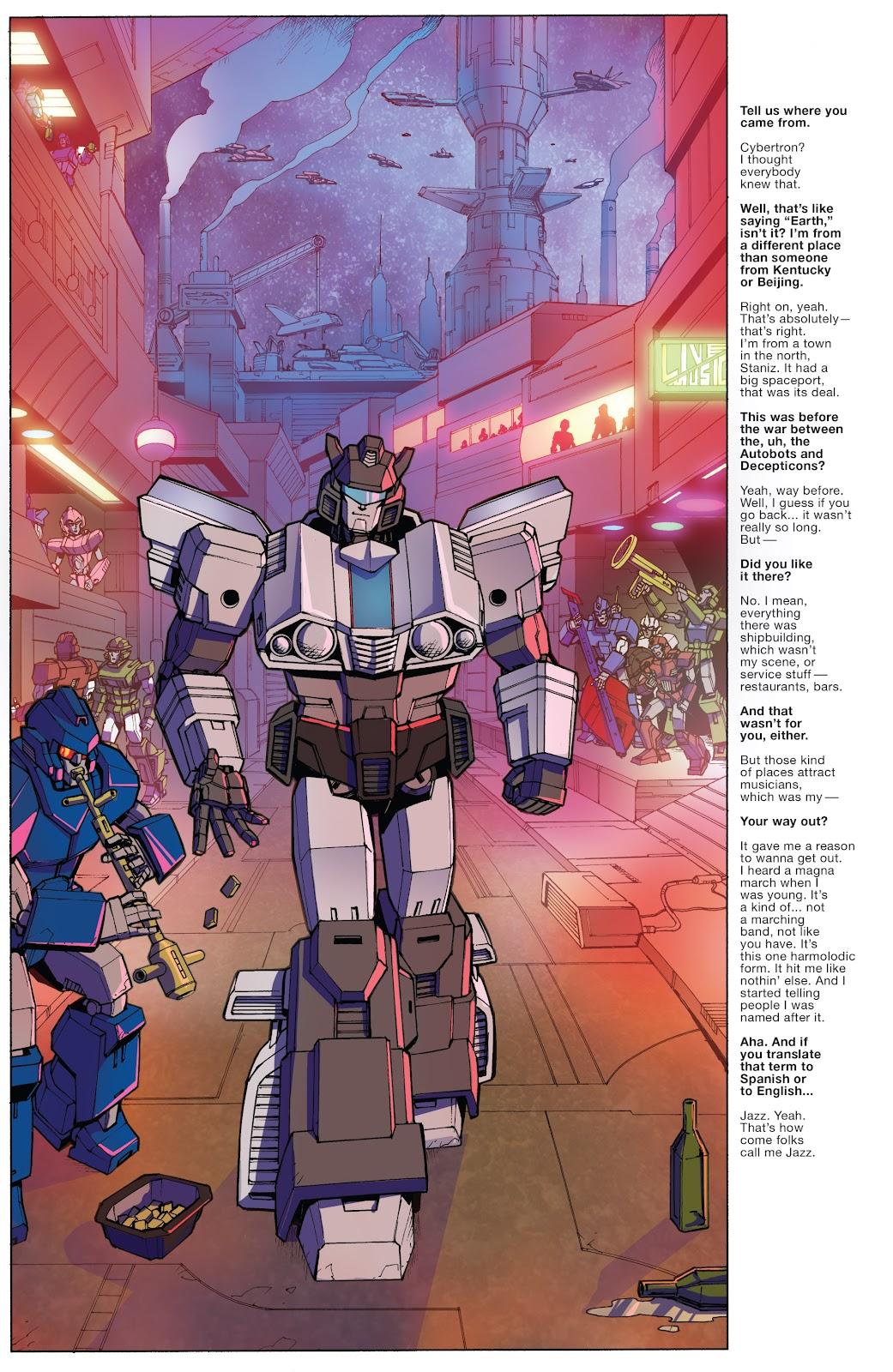 Comic Optimus Prime issue 8