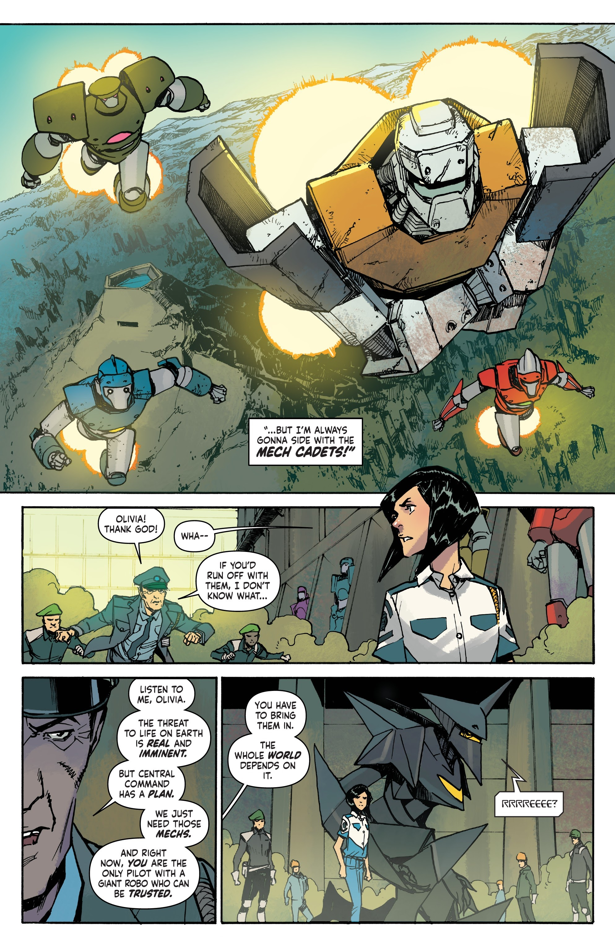 Mech Cadet Yu #_TPB_2 #15 - English 75