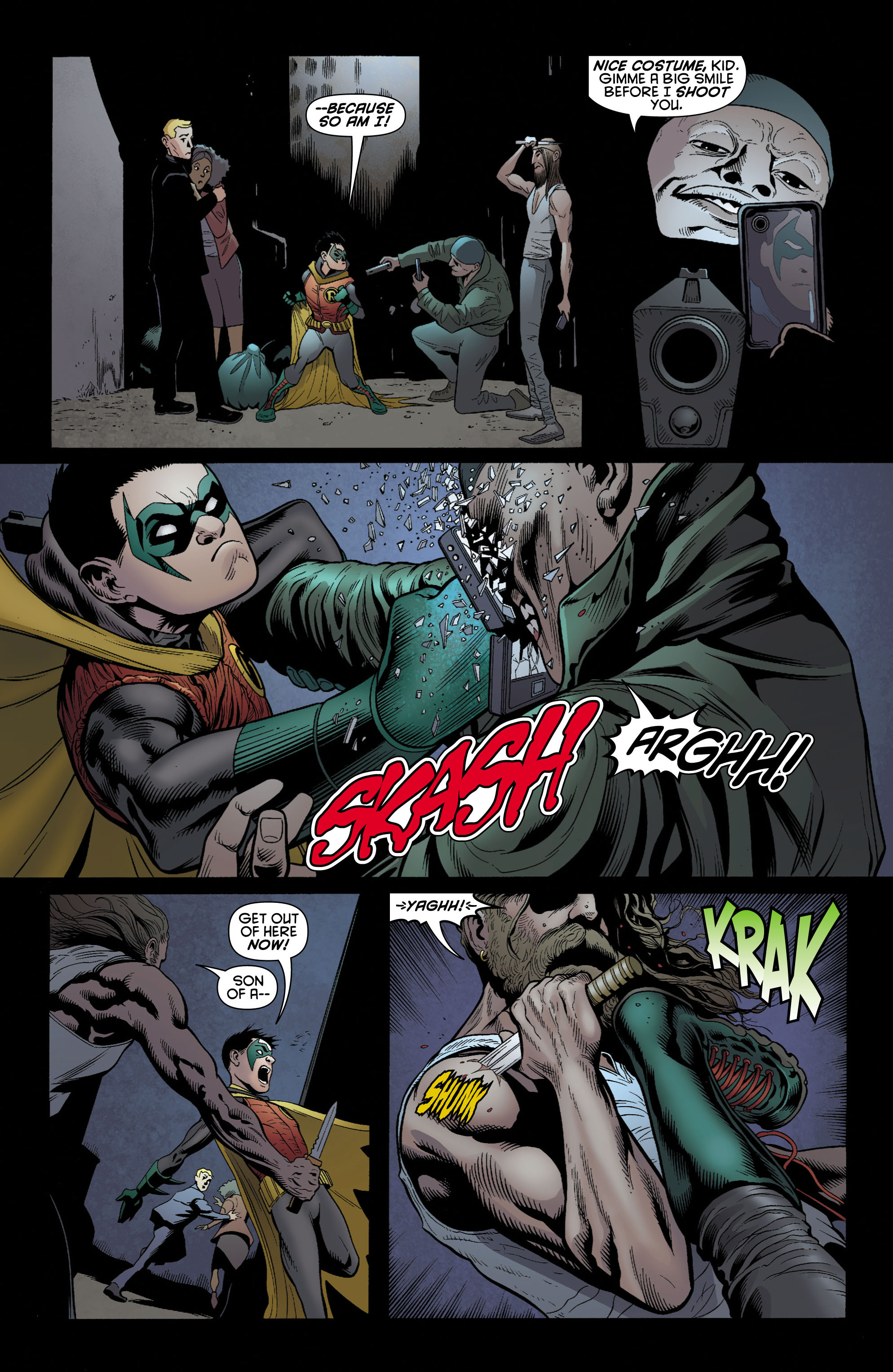 Read online Batman and Robin (2011) comic -  Issue # TPB 1 - 57