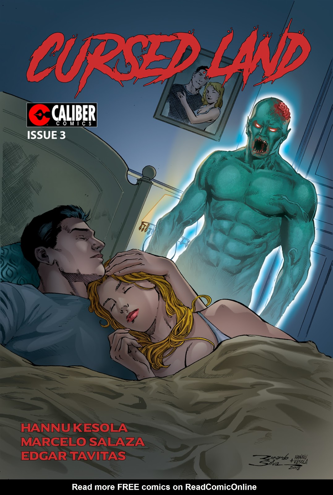 Read online Cursed Land comic -  Issue #3 - 1