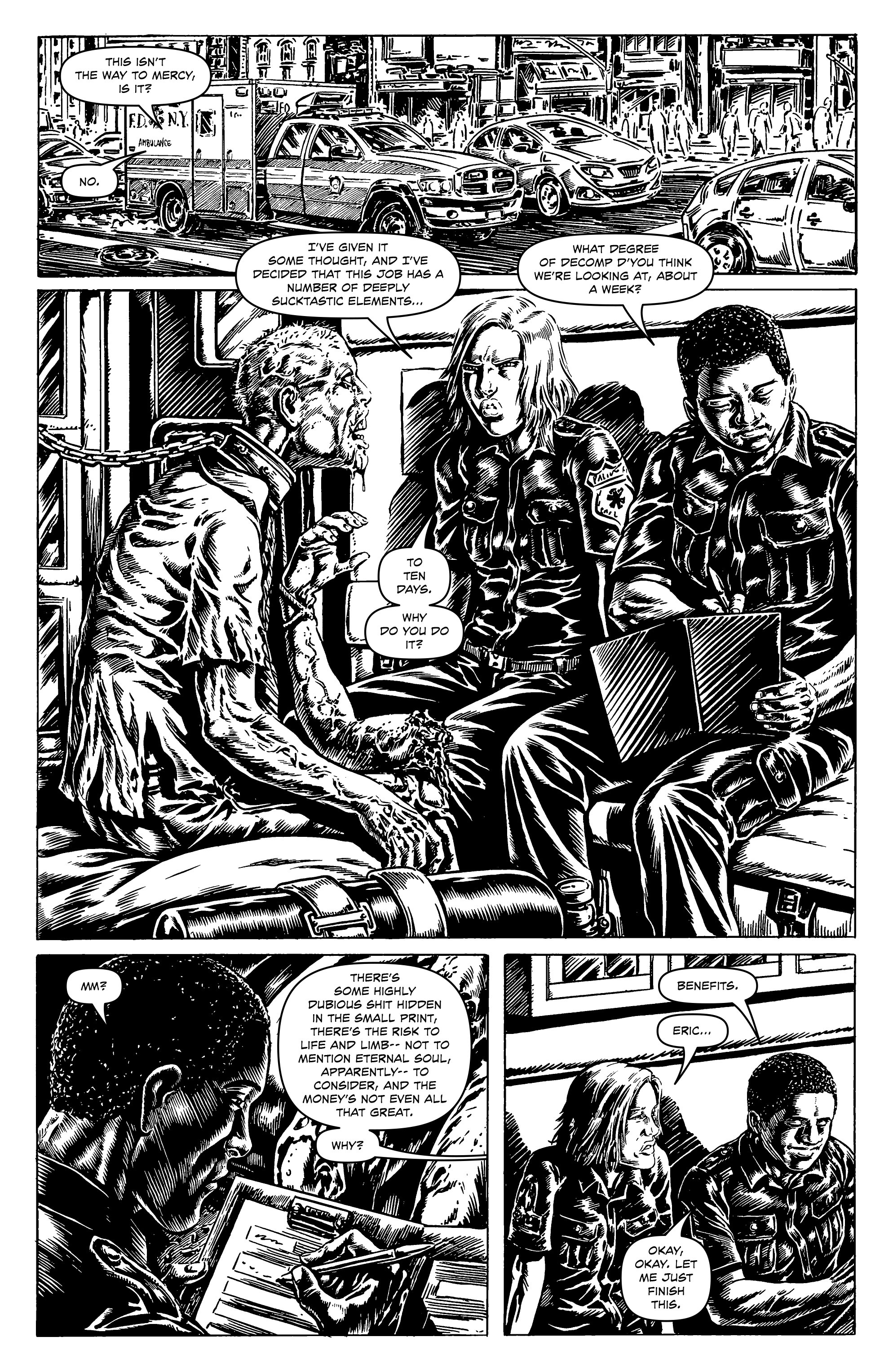 Read online Alan Moore's Cinema Purgatorio comic -  Issue #9 - 17