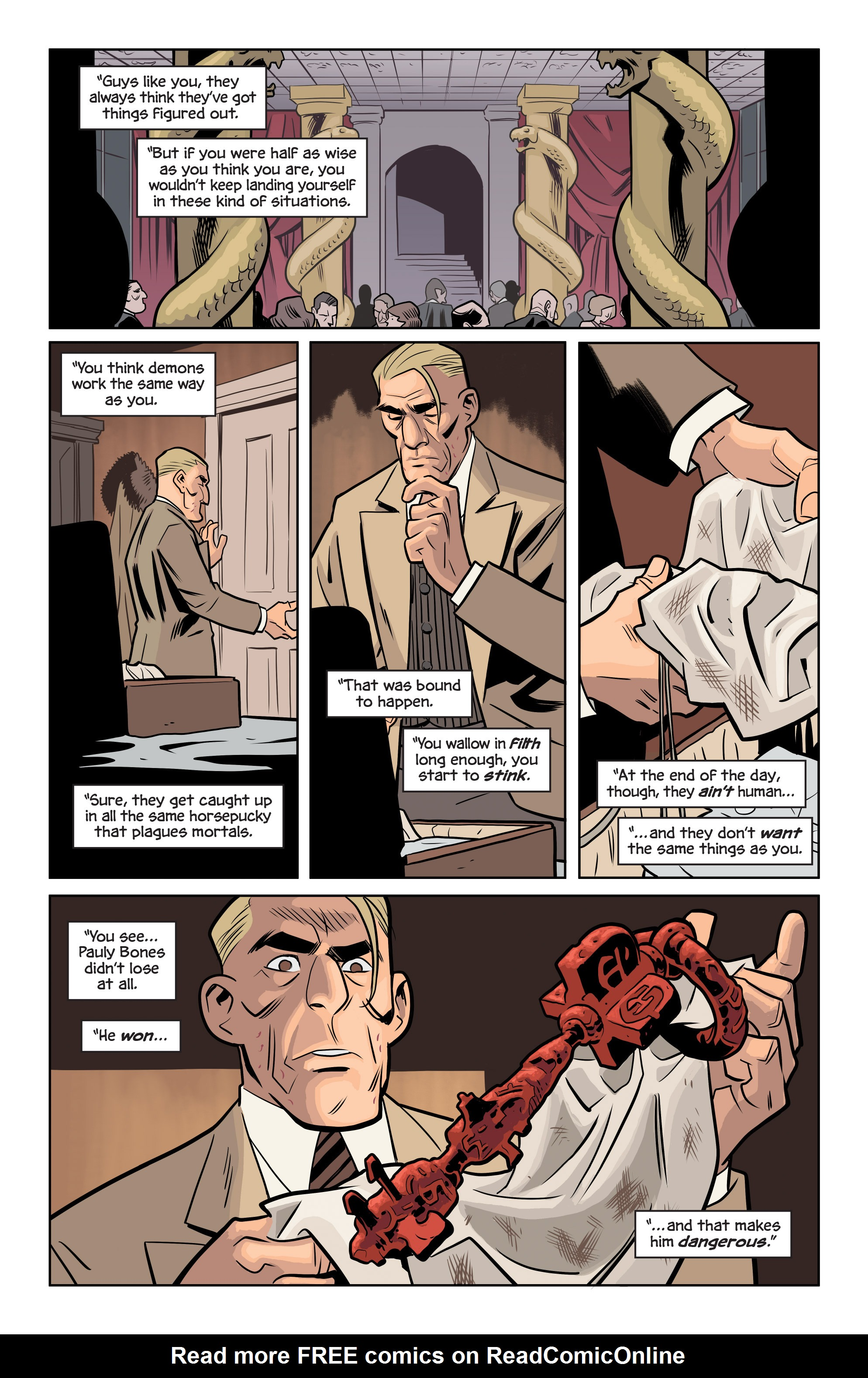 Read online The Damned comic -  Issue #1 - 27