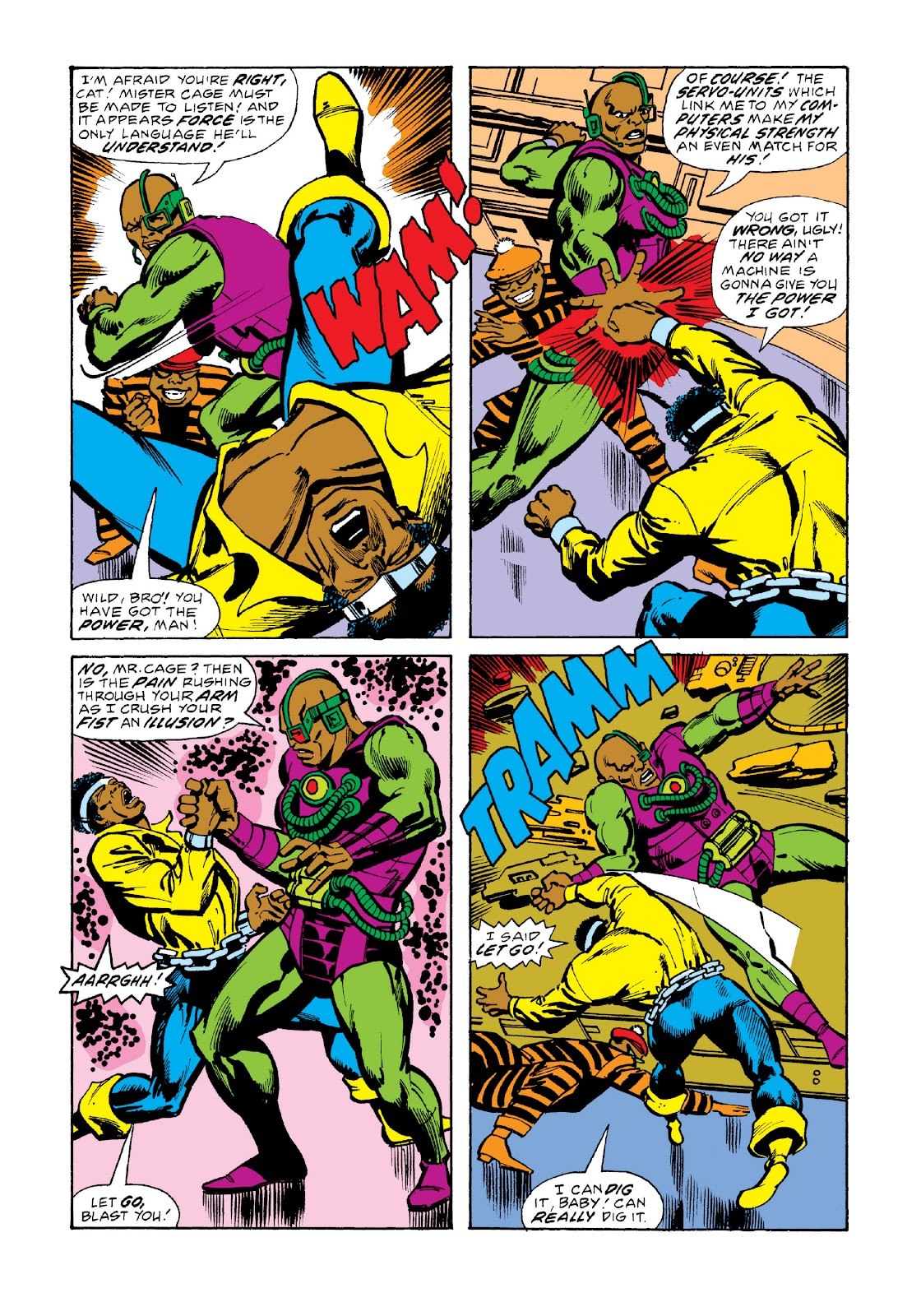 Read online Marvel Masterworks: Luke Cage, Power Man comic -  Issue # TPB 3 (Part 2) - 57